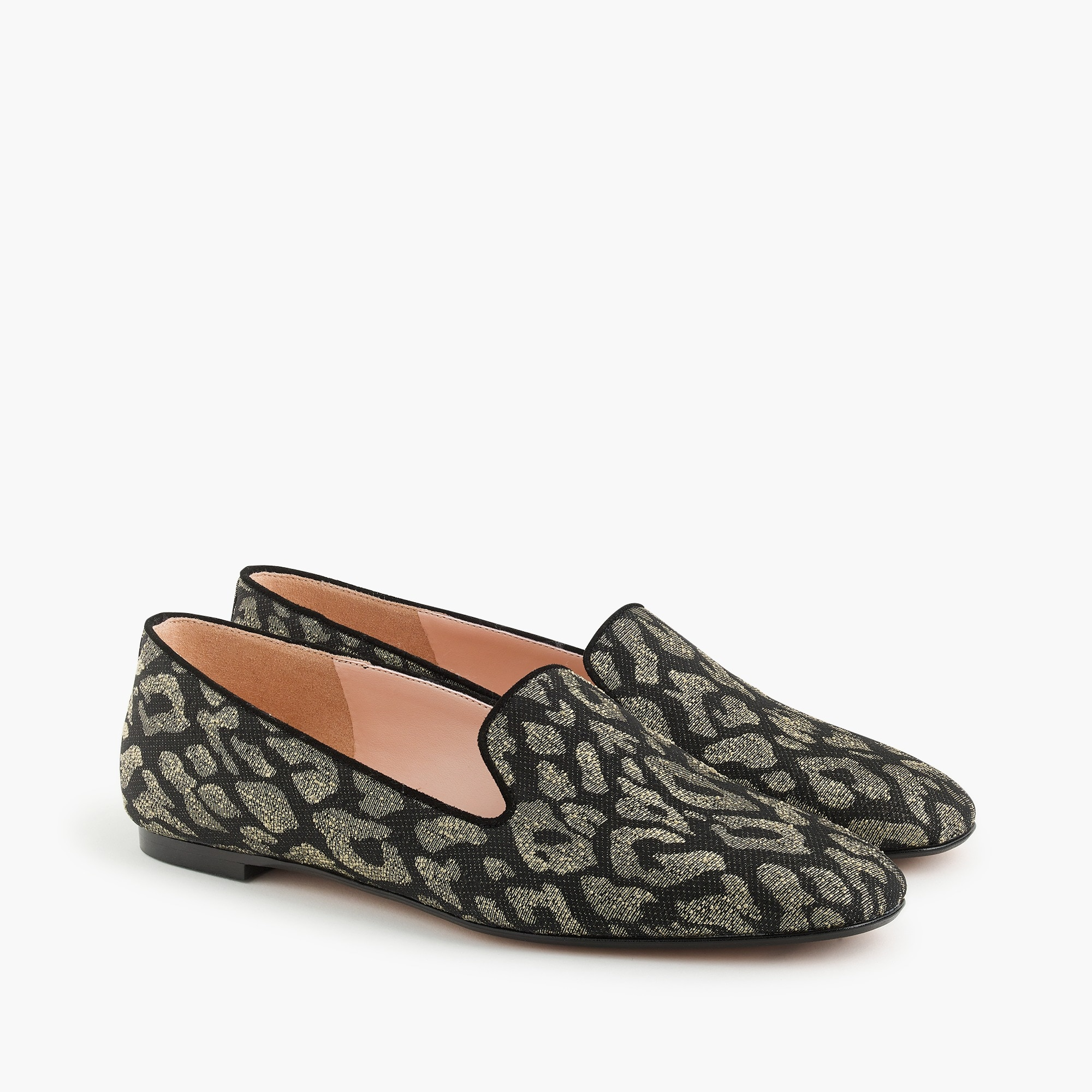 womens Leopard smoking slippers