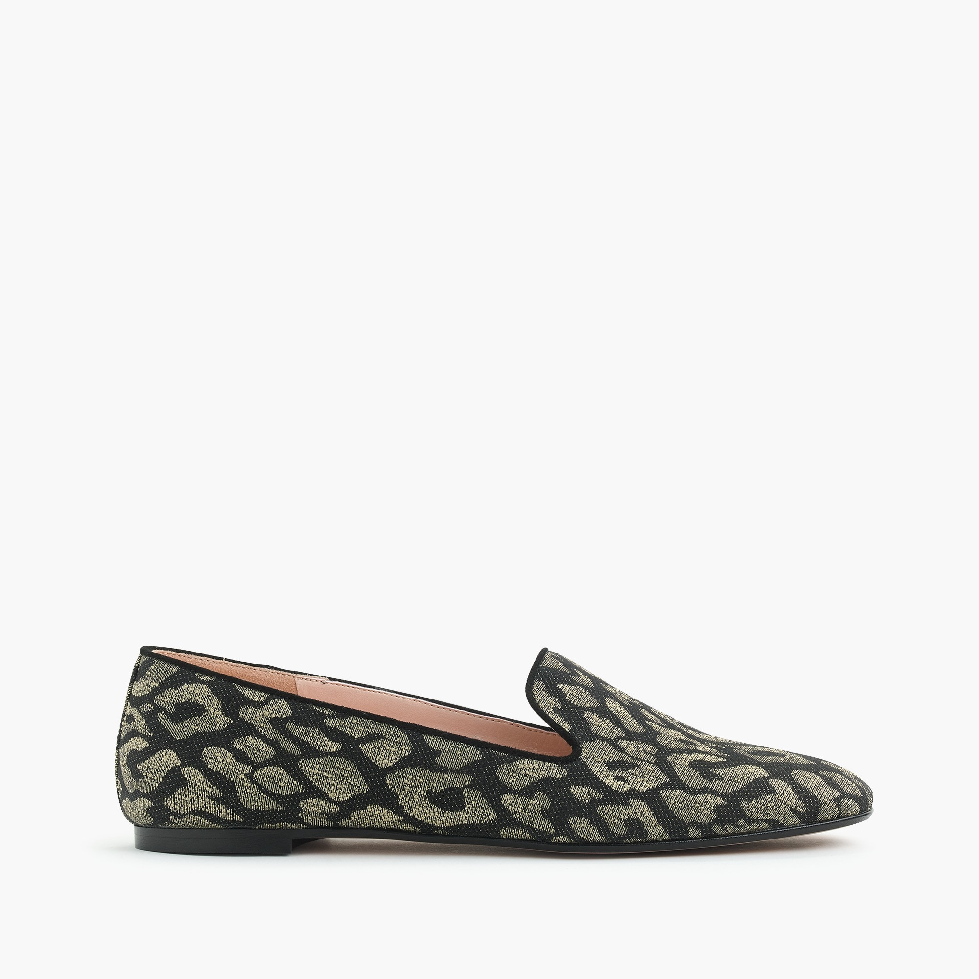 Leopard smoking slippers