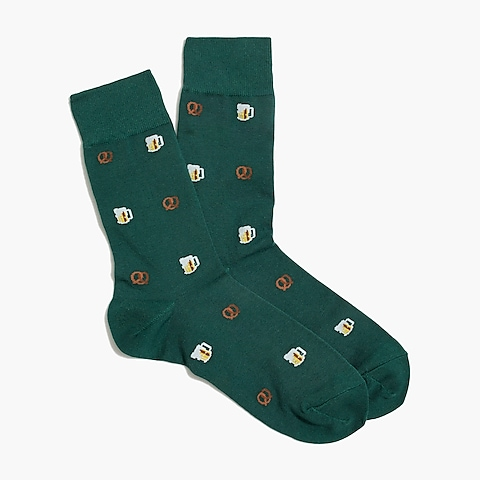 factory mens Oktoberfest socks