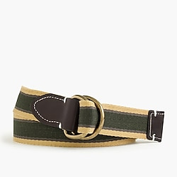Cotton belt in Oar Stripe