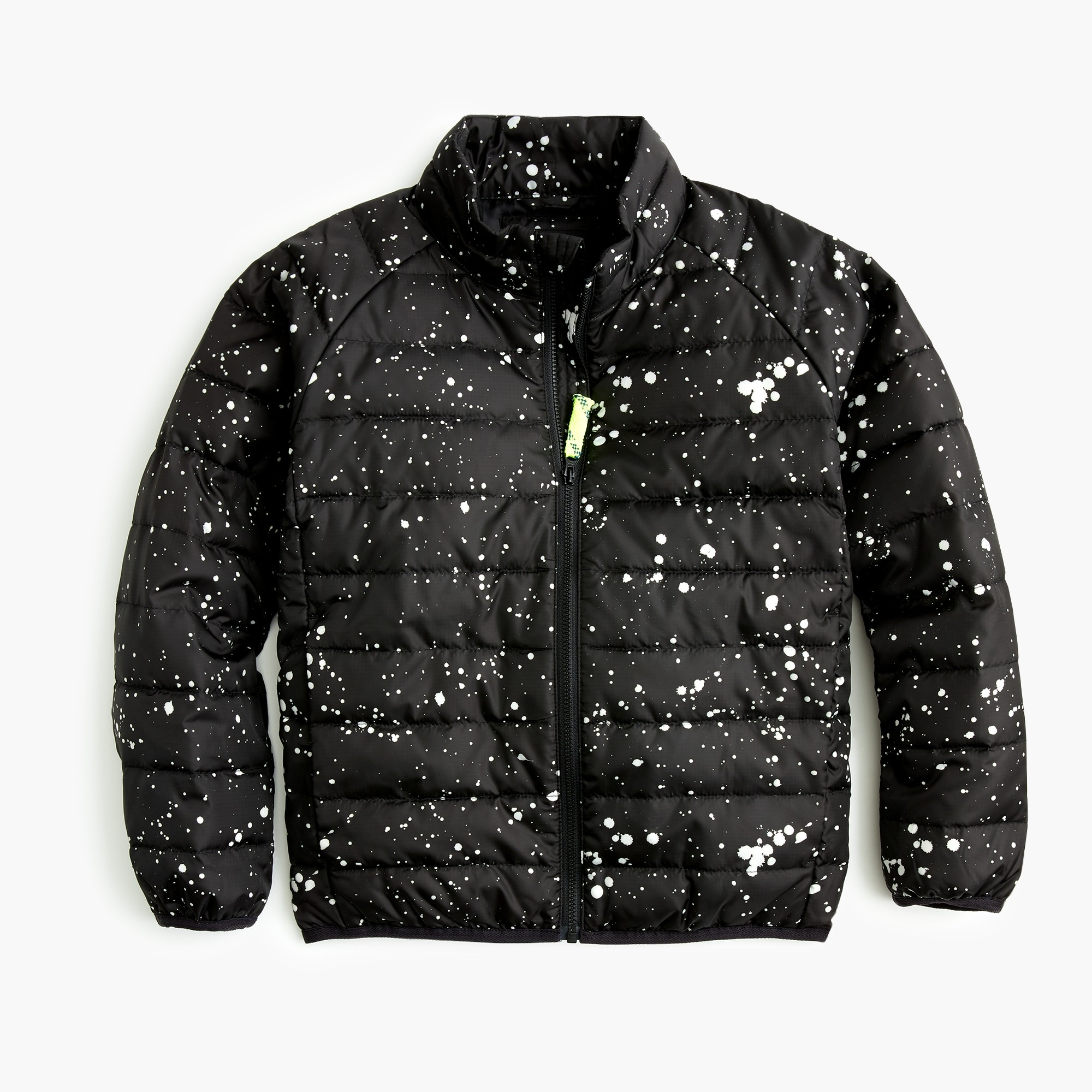 boys Boys' splatter-painted packable quilted jacket with Primaloft®