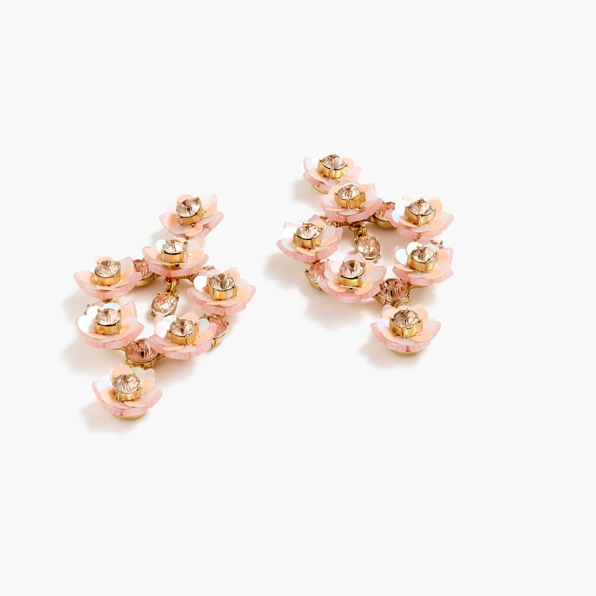 Flower blossom statement earrings women new arrivals c