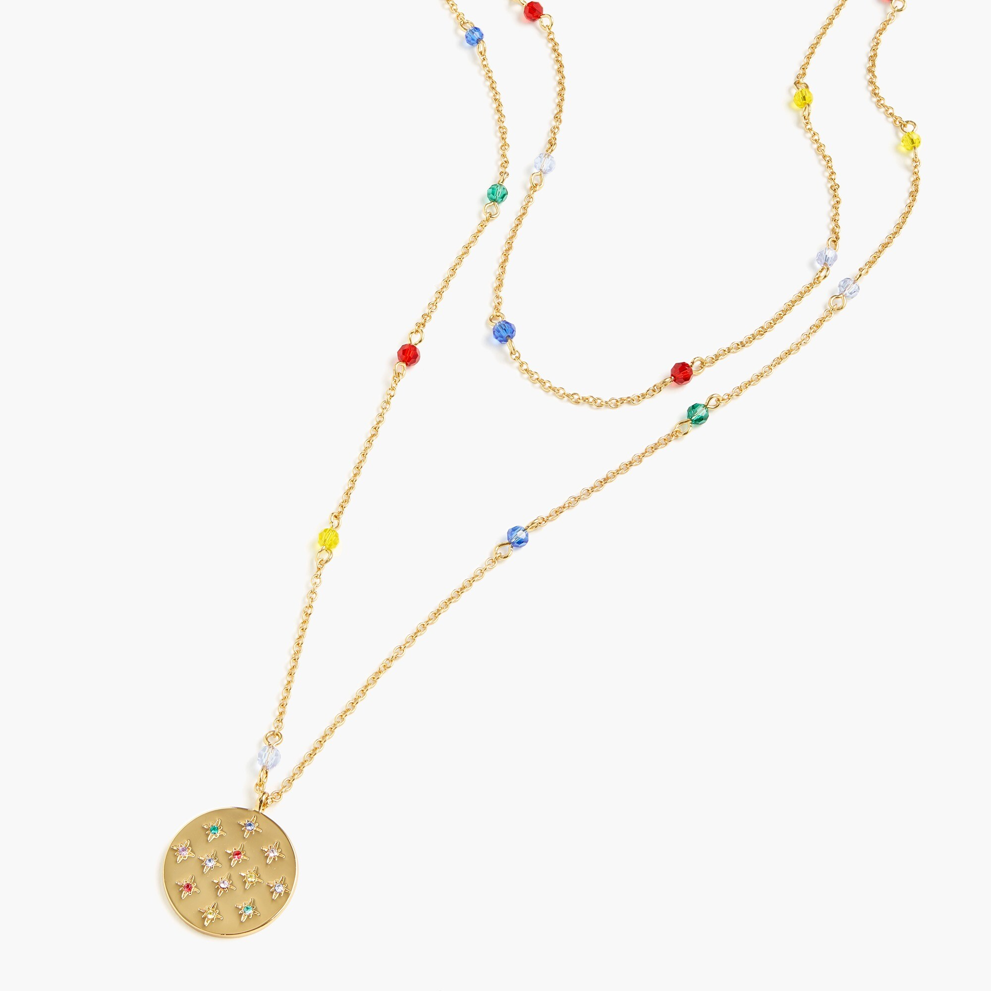 Alison Lou X J.Crew layered pendant necklace women j.crew in good company c