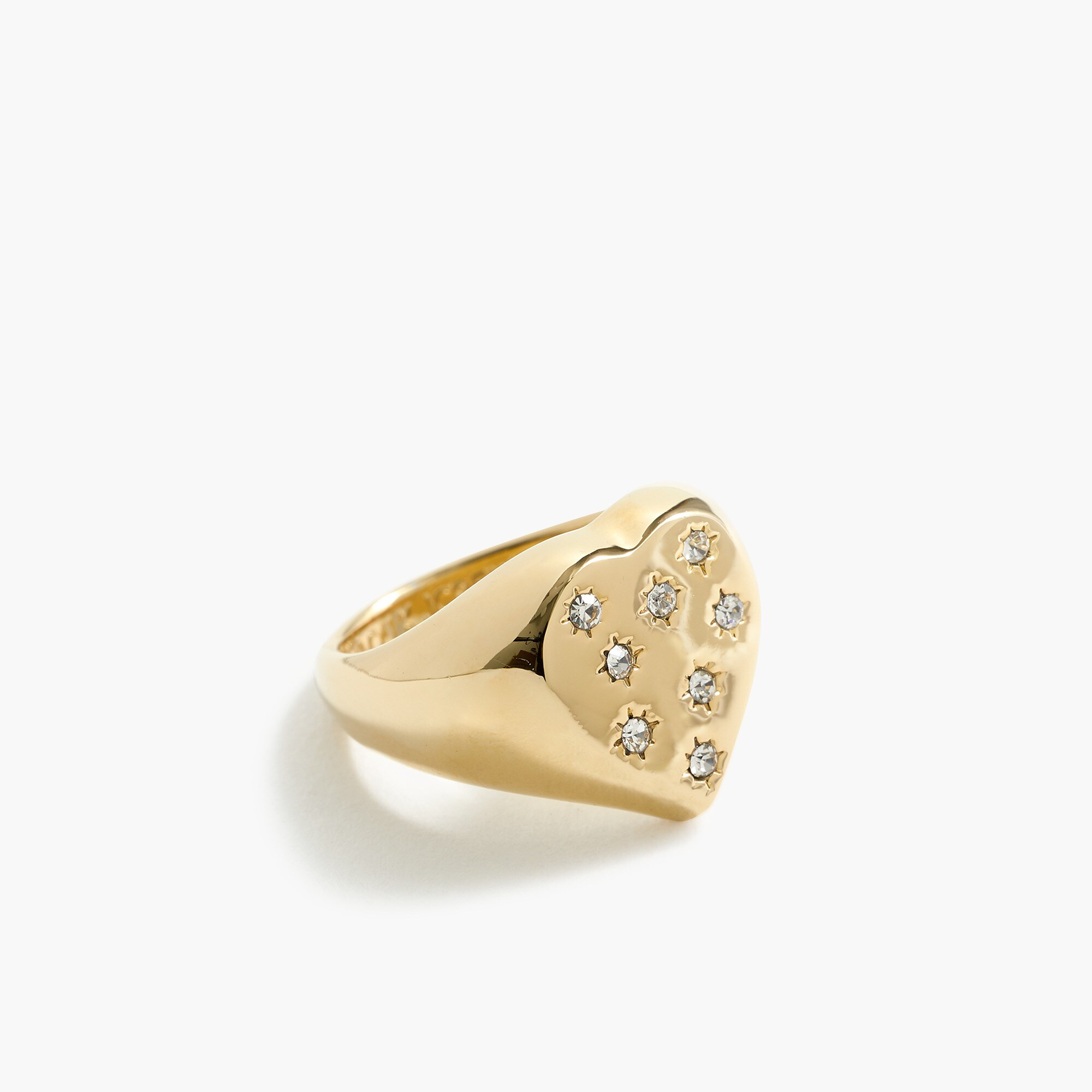 women's alison lou x j.crew heart-shaped ring - women's jewelry
