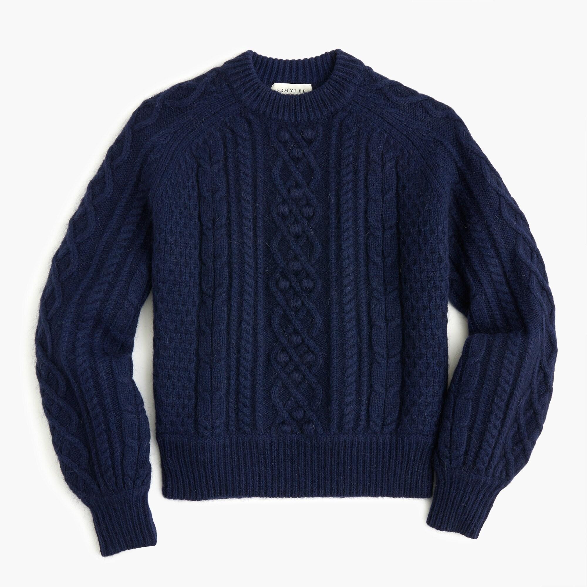 womens Demylee™ X J.Crew balloon-sleeve sweater