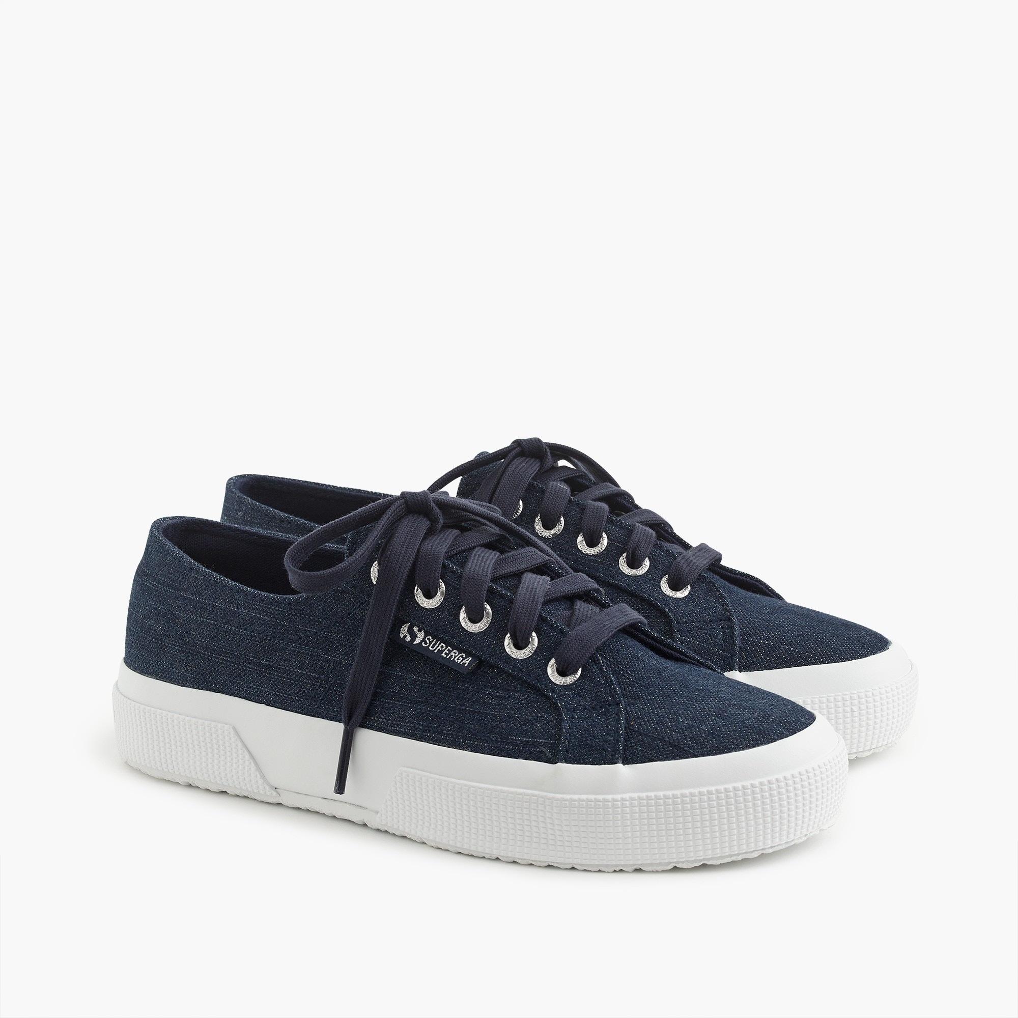 womens Superga® 2750 classic sneakers in dark denim