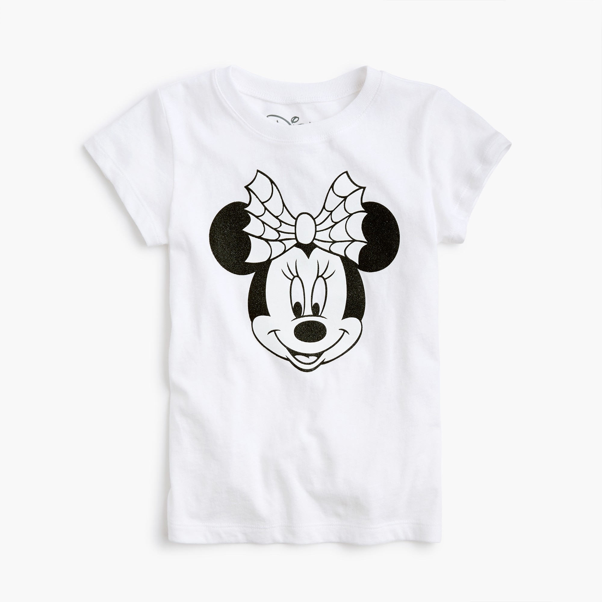 girls Kids' crewcuts x Disney® sparkly glow-in-the-dark Minnie Mouse T-shirt