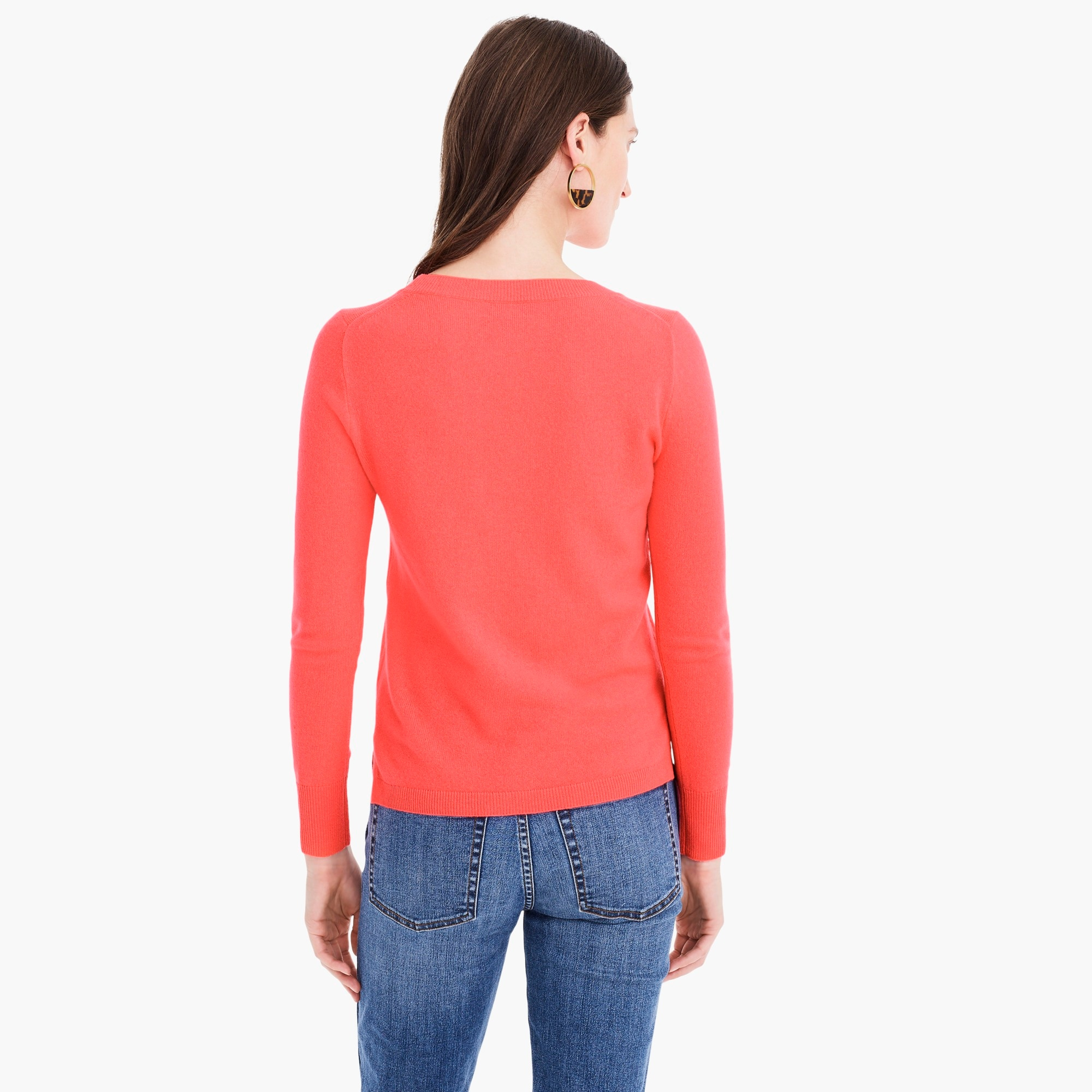 Image 6 for Long-sleeve everyday cashmere crewneck sweater