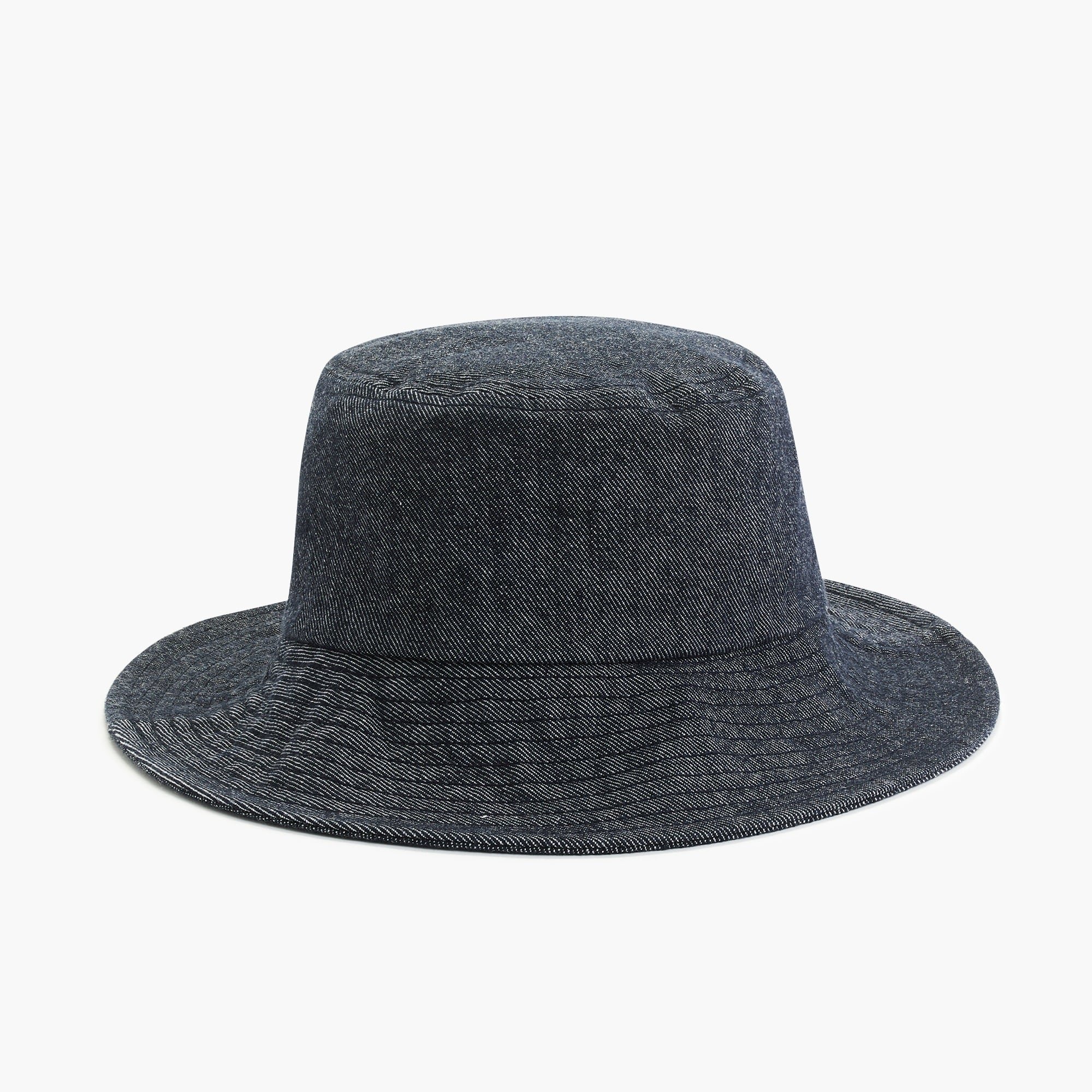 womens Denim bucket hat