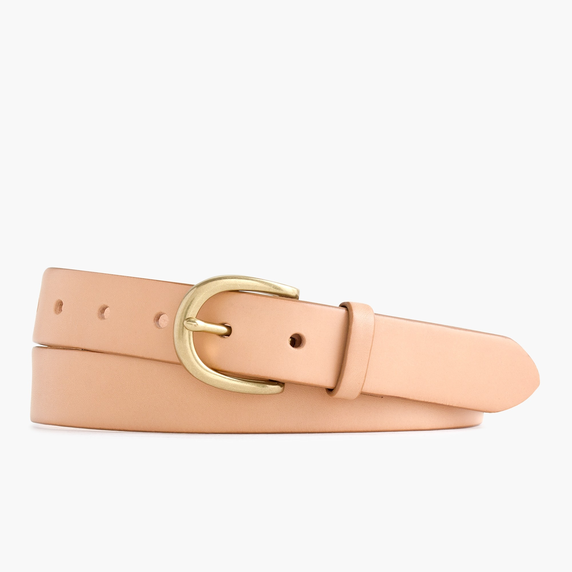Image 1 for Classic leather belt in tan