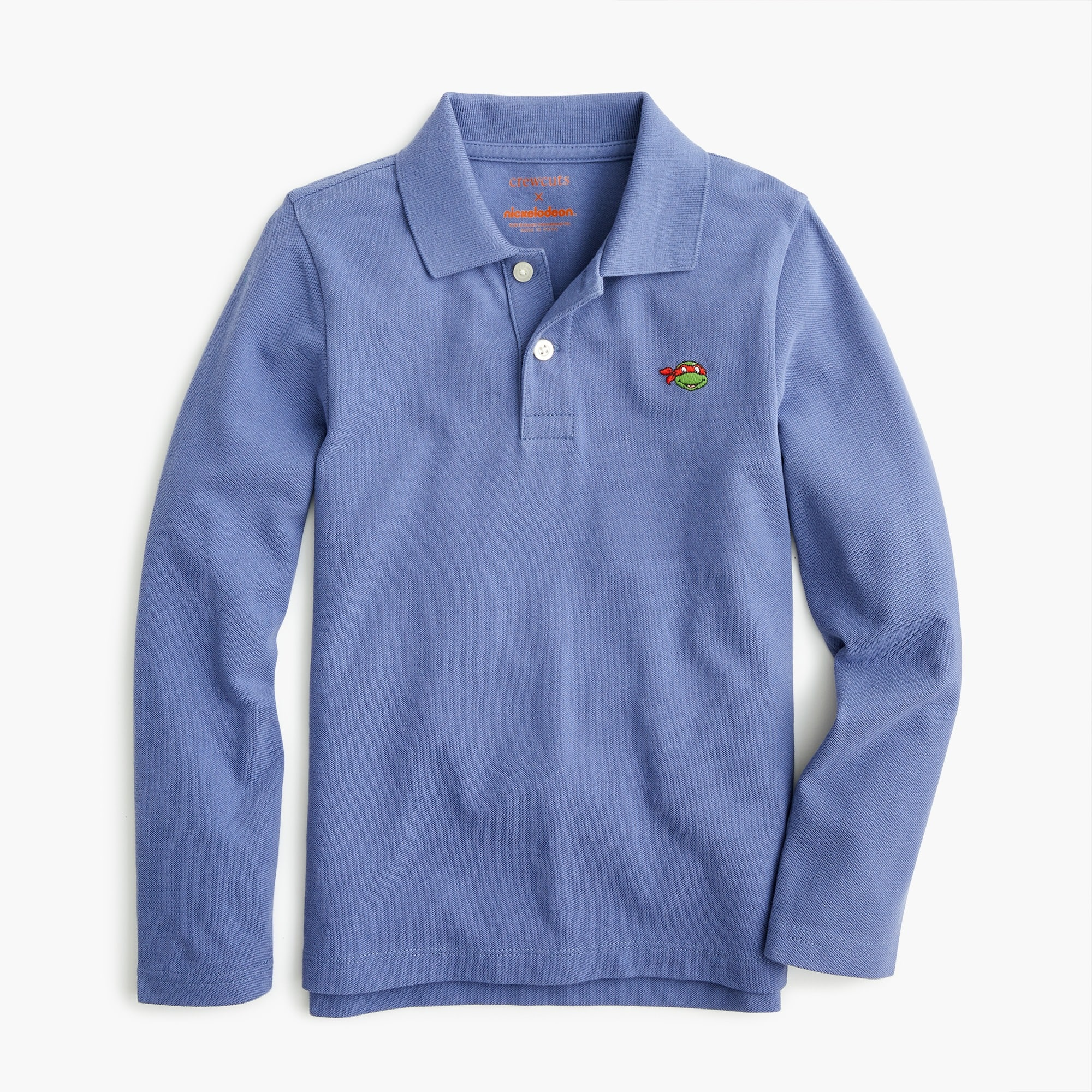boys Kids' crewcuts X Nickelodeon™ long-sleeve critter polo shirt