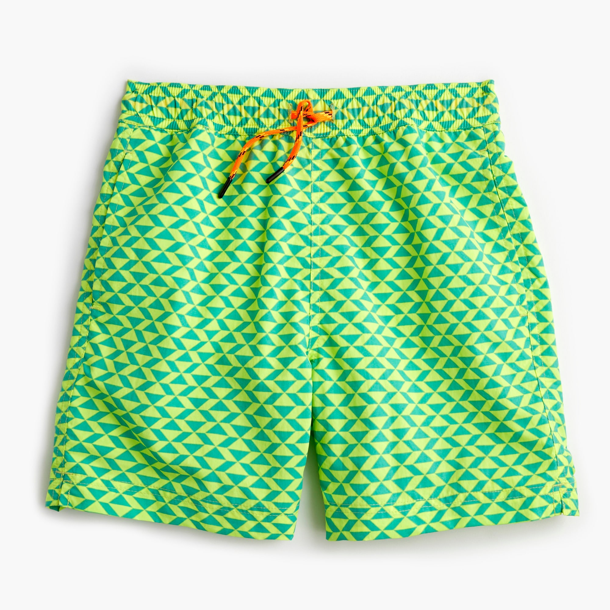 boys Boys' swim trunk in triangle print