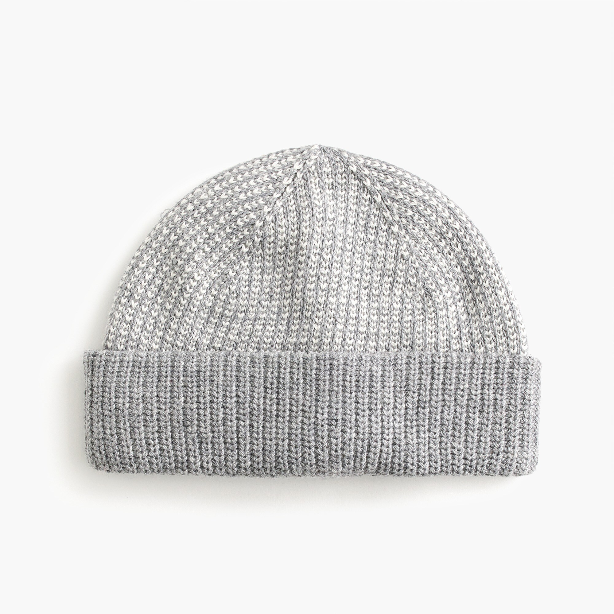 mens Seedstitch wool-blend beanie