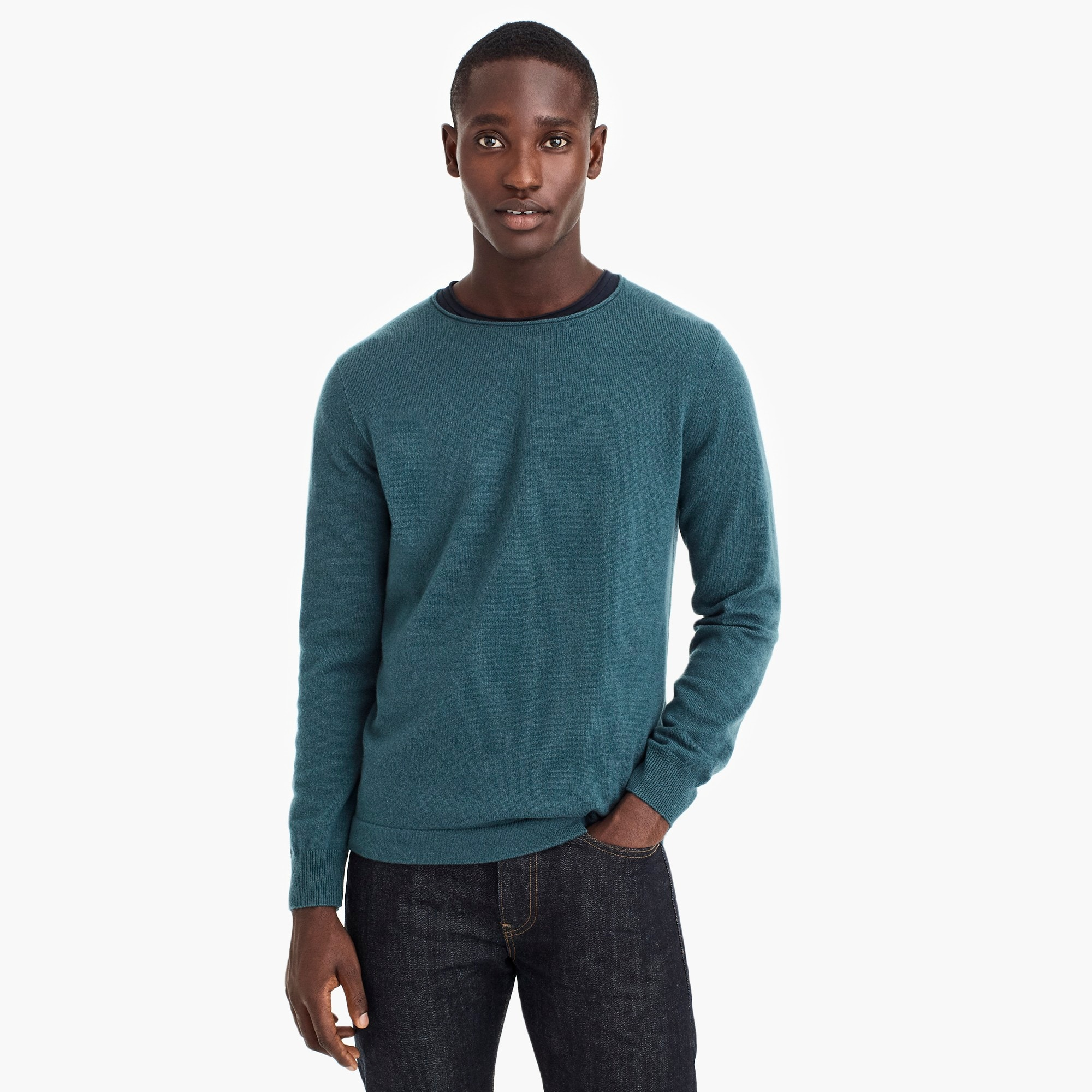 mens Destination cashmere crewneck sweater