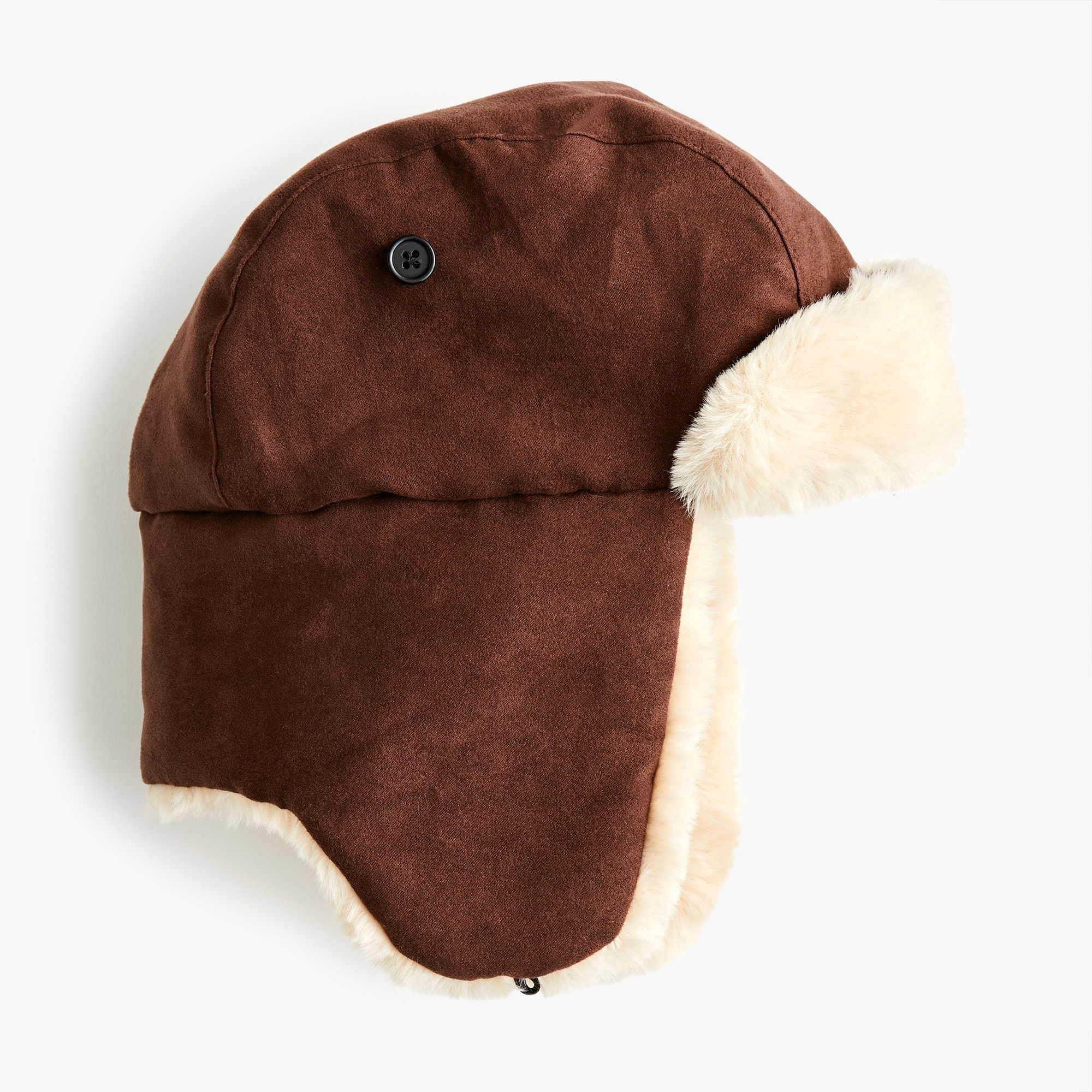 boys Boys' fur-lined trapper hat