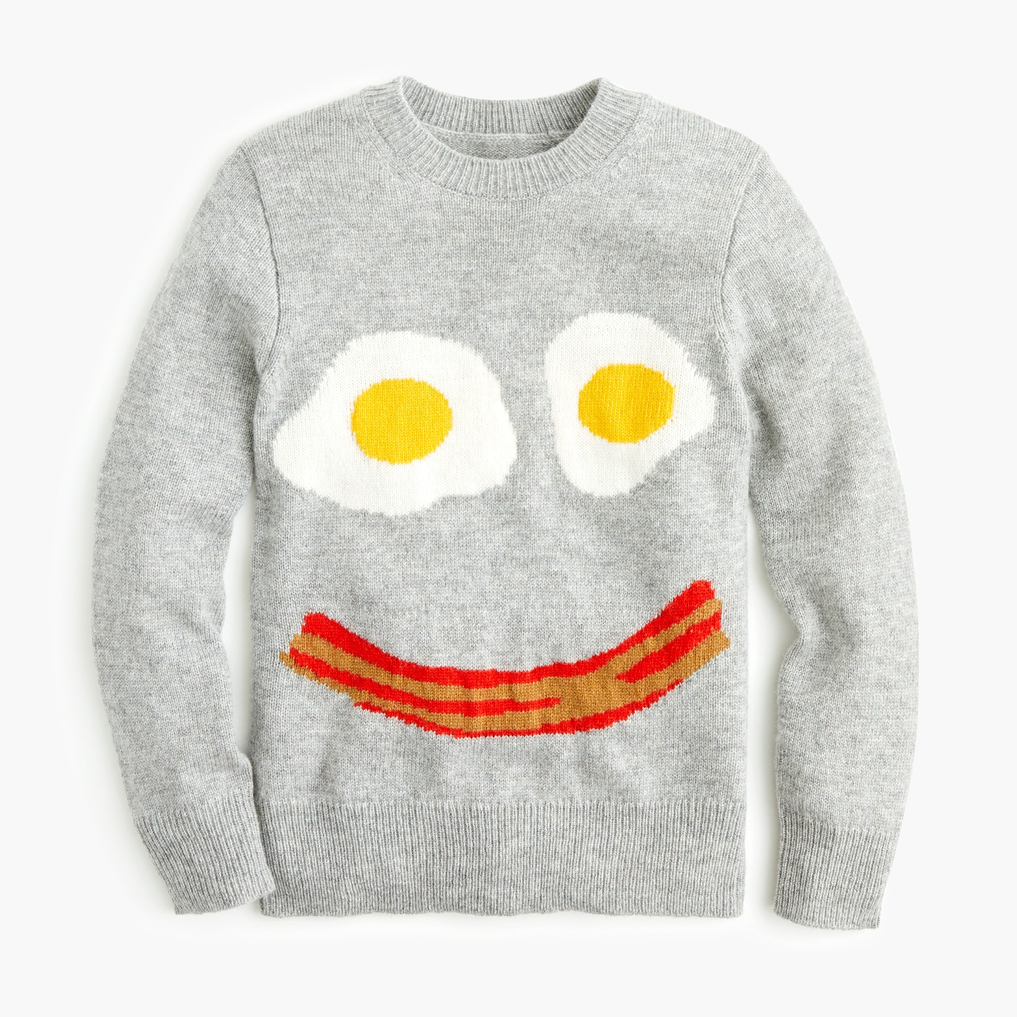boys Kids' bacon and eggs sweater