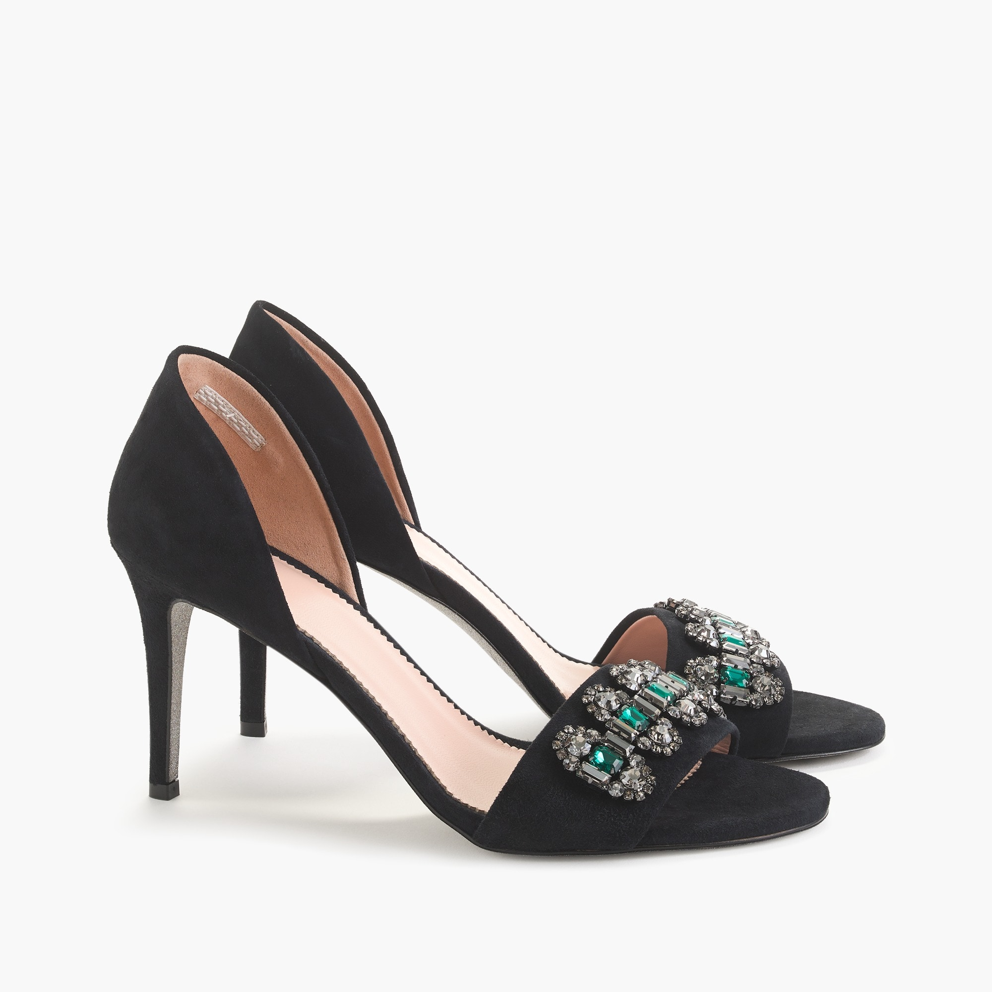 womens Embellished d'Orsay sandals