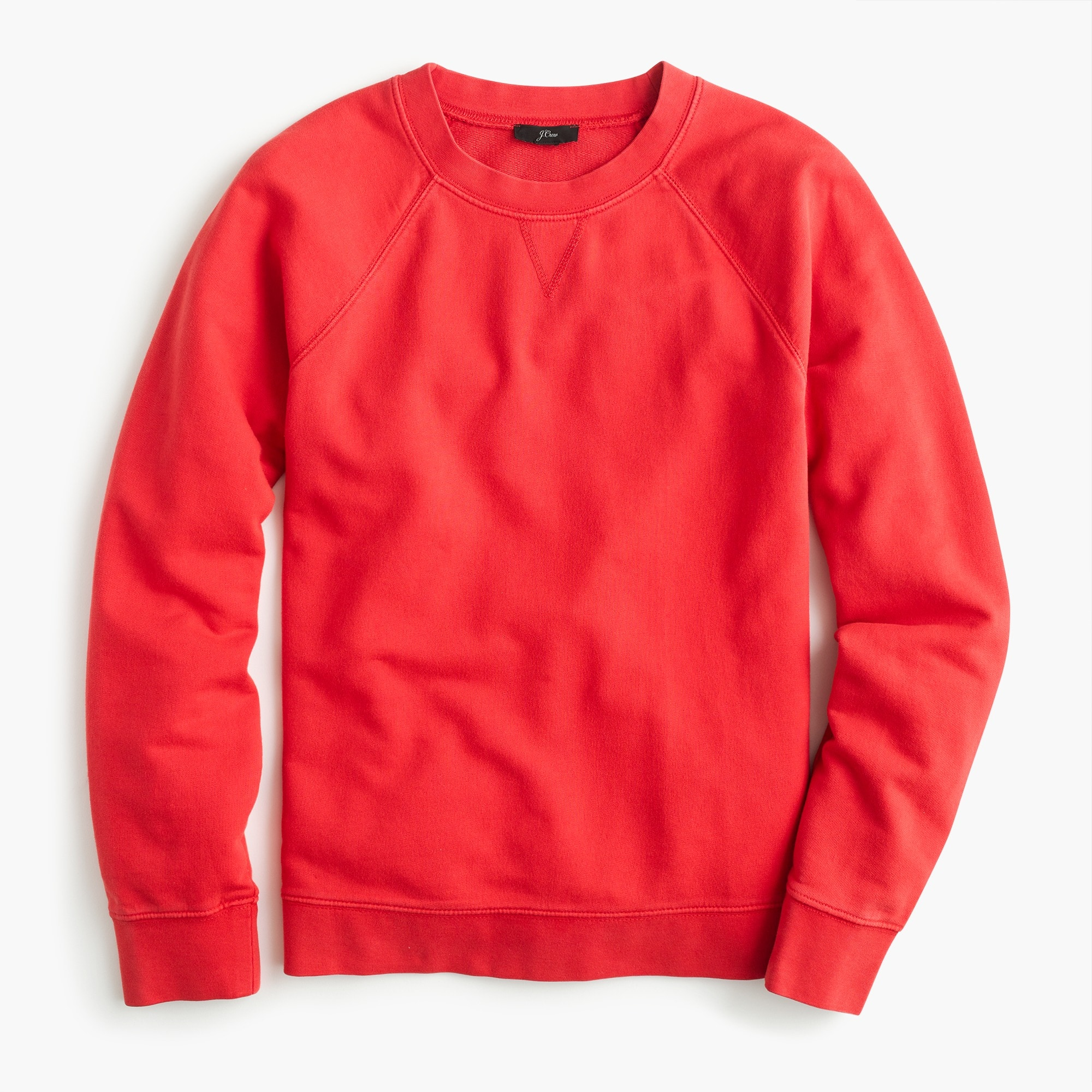 womens Garment-dyed crewneck sweatshirt
