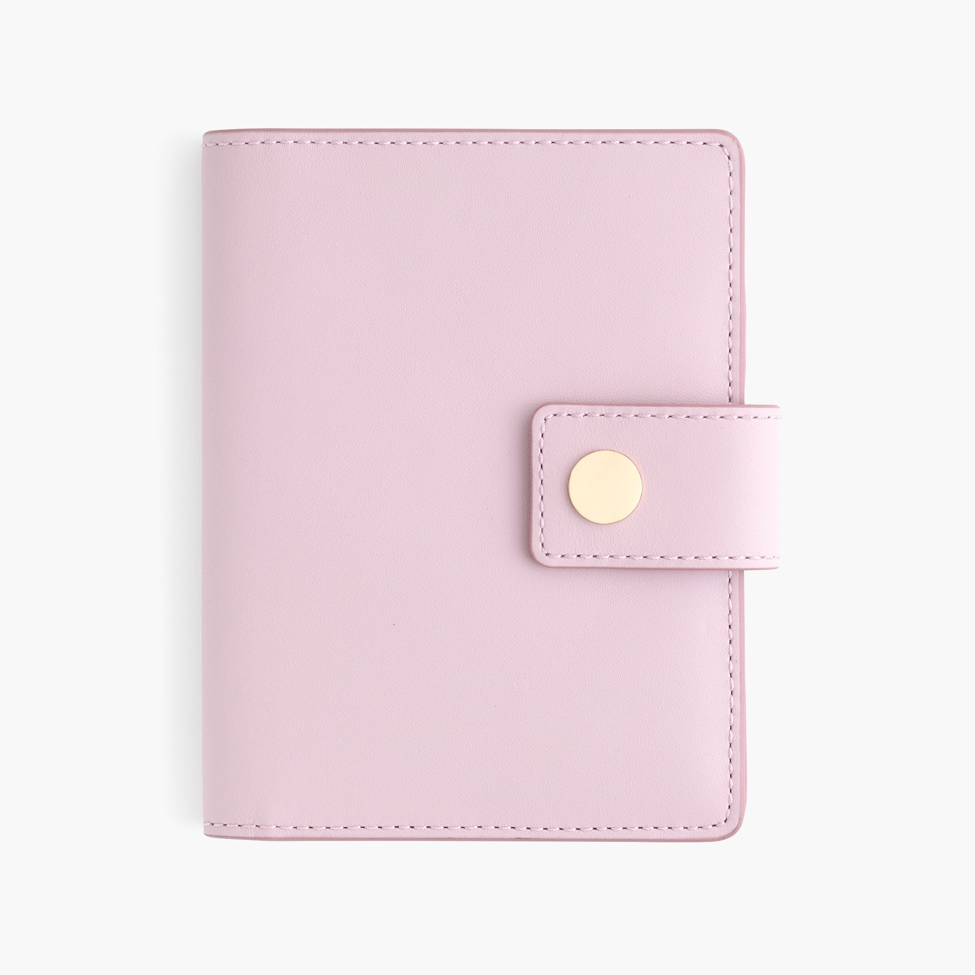 womens Passport case in Italian leather
