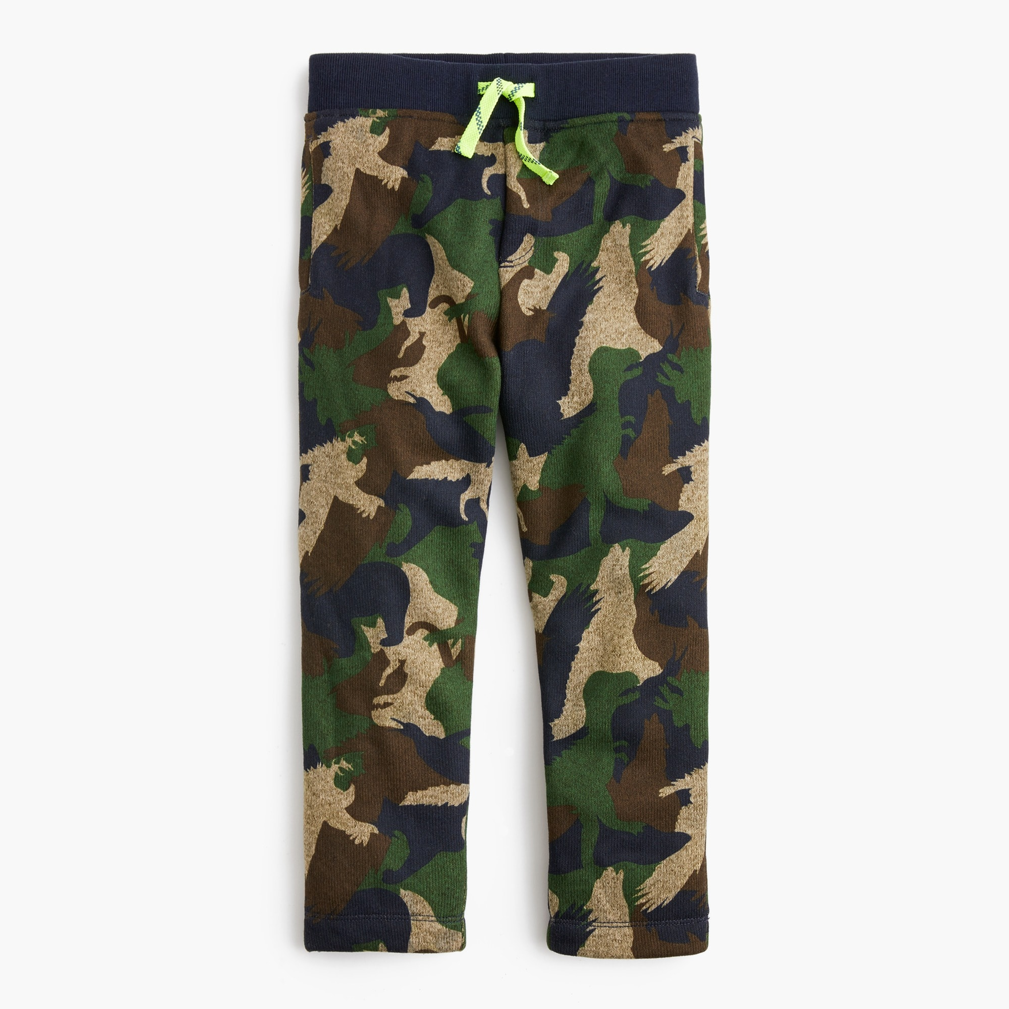 boys Boys' Summit fleece pant in critter camo