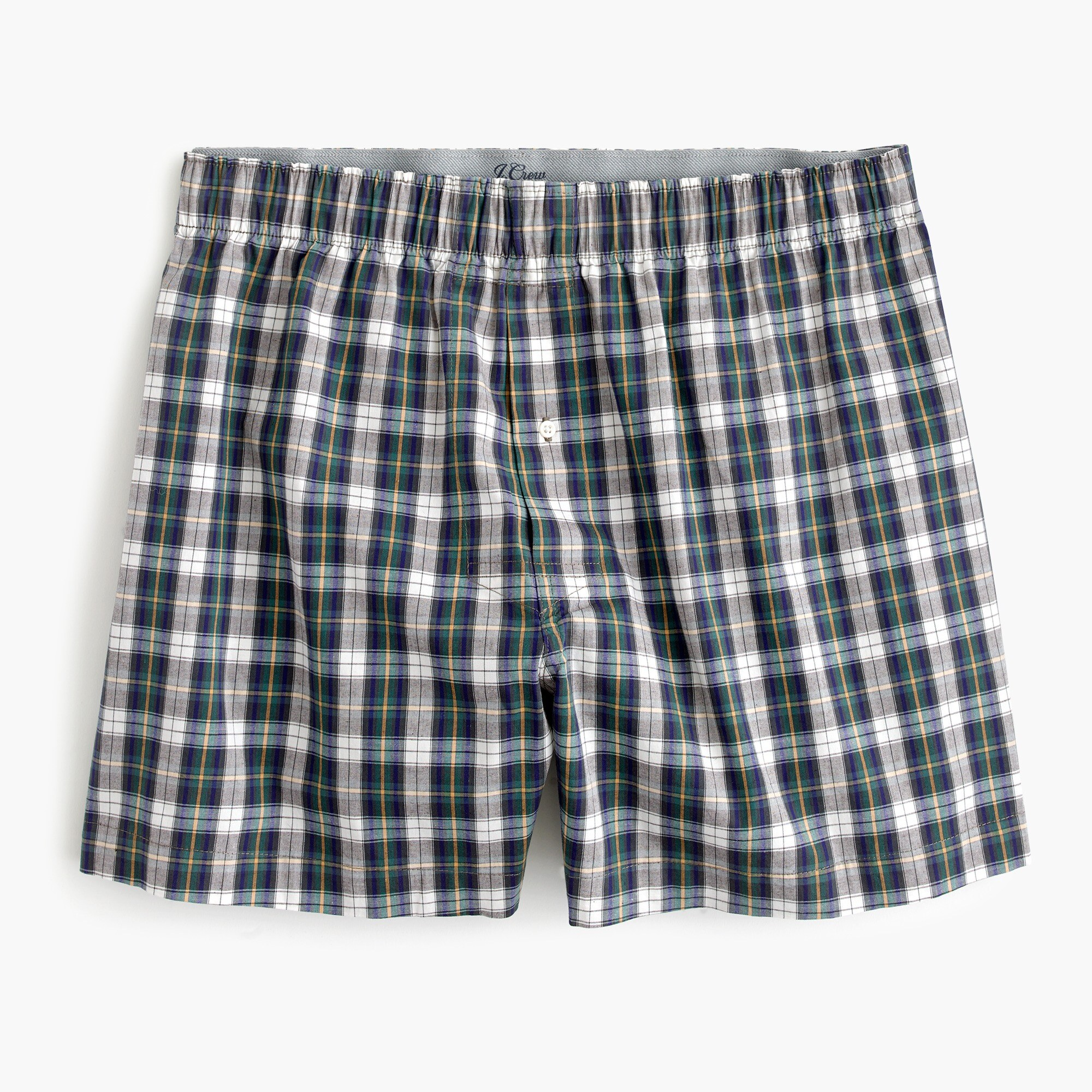 mens Stretch Darnell plaid boxers