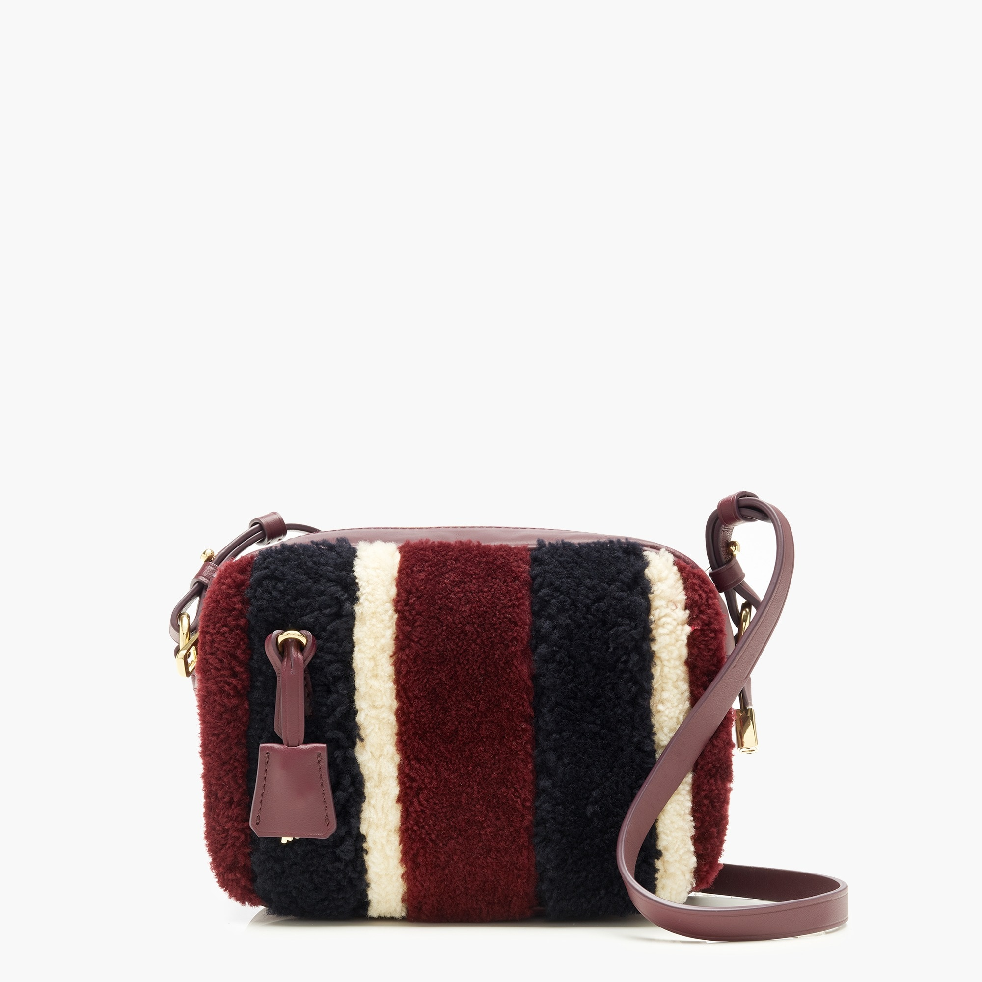 womens Signet bag in shearling