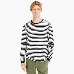 J.Crew Always 1994 long-sleeve T-shirt in athletic stripe