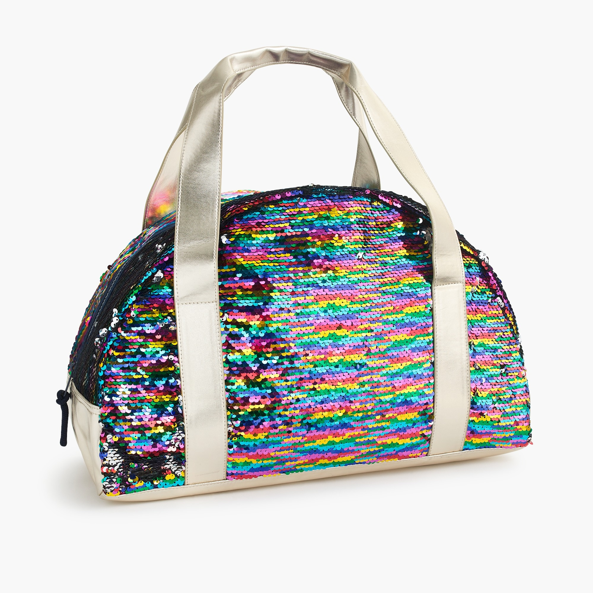 girls Girls' overnight bag with reversible sequins