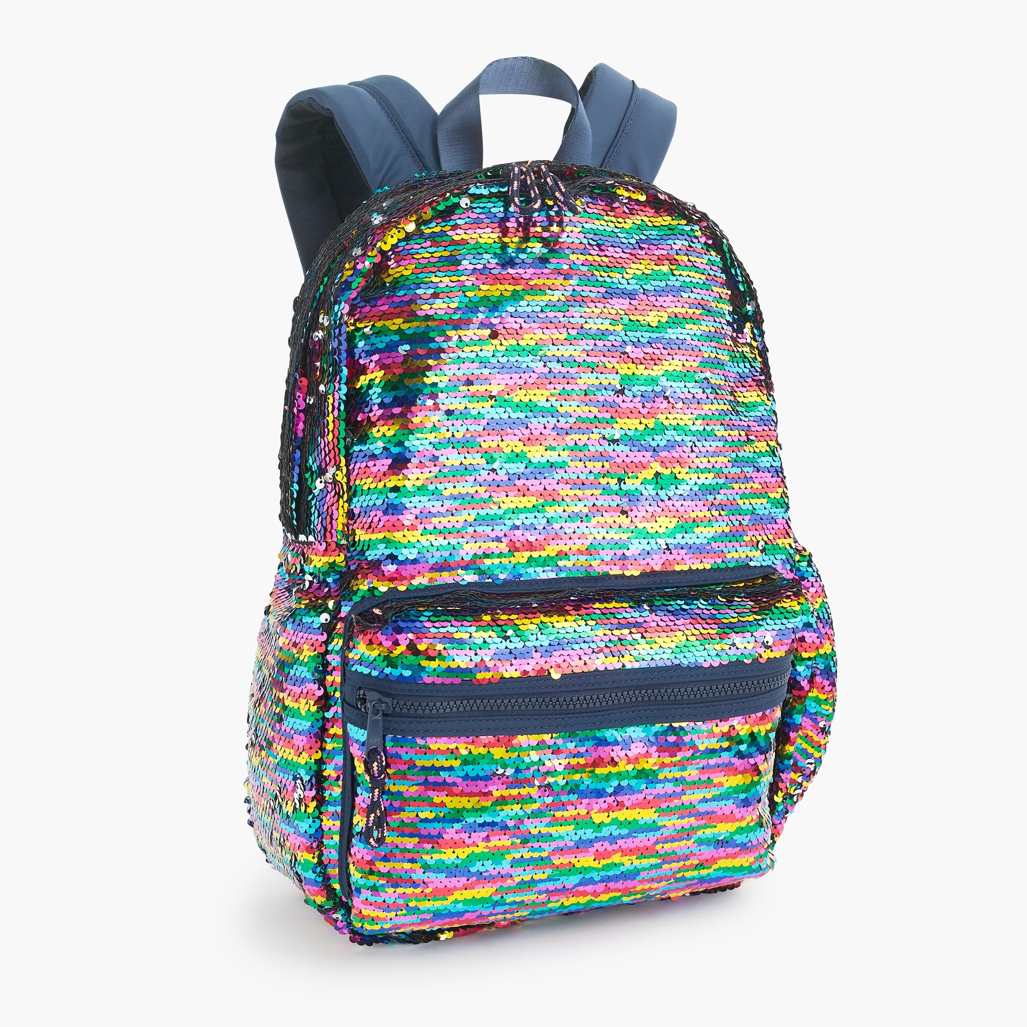 girls Kids' backpack with reversible sequins