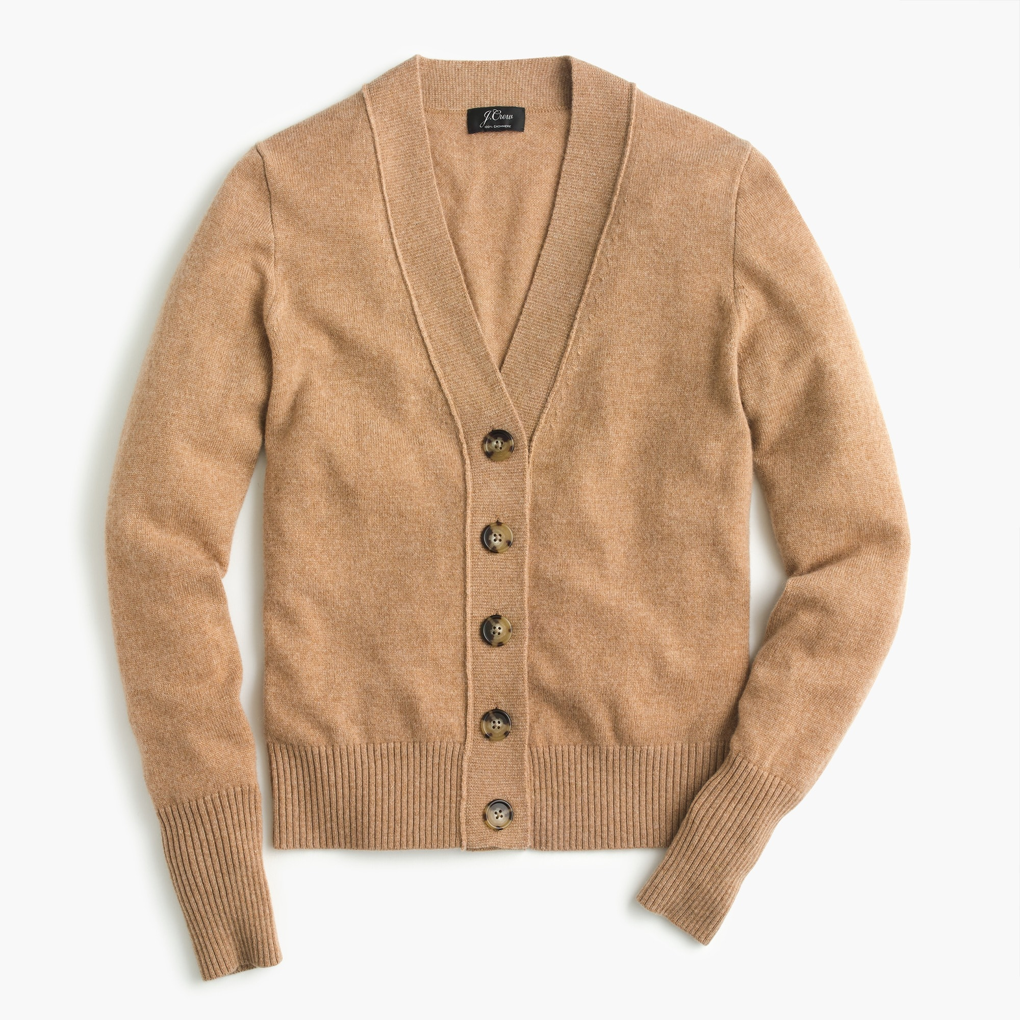 Everyday cashmere cropped cardigan sweater