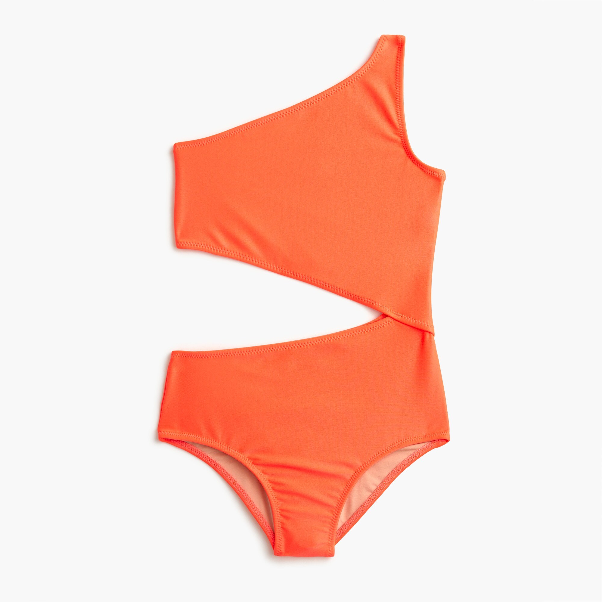 girls Girls' one-piece swimsuit with cut-out