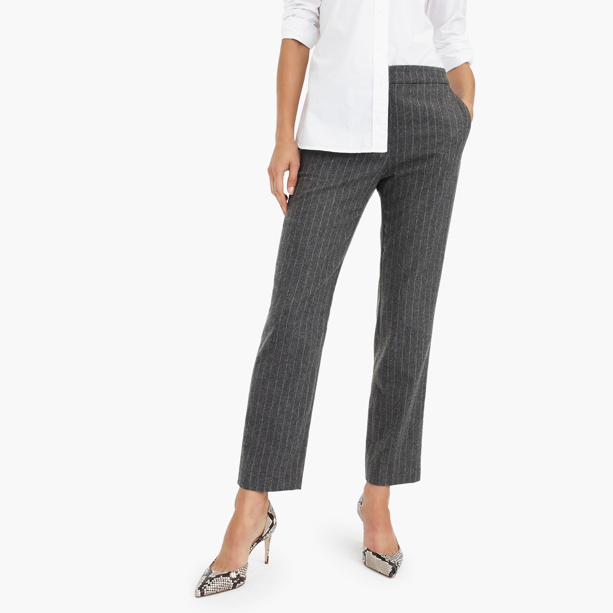 womens Pull-on easy pant in wool