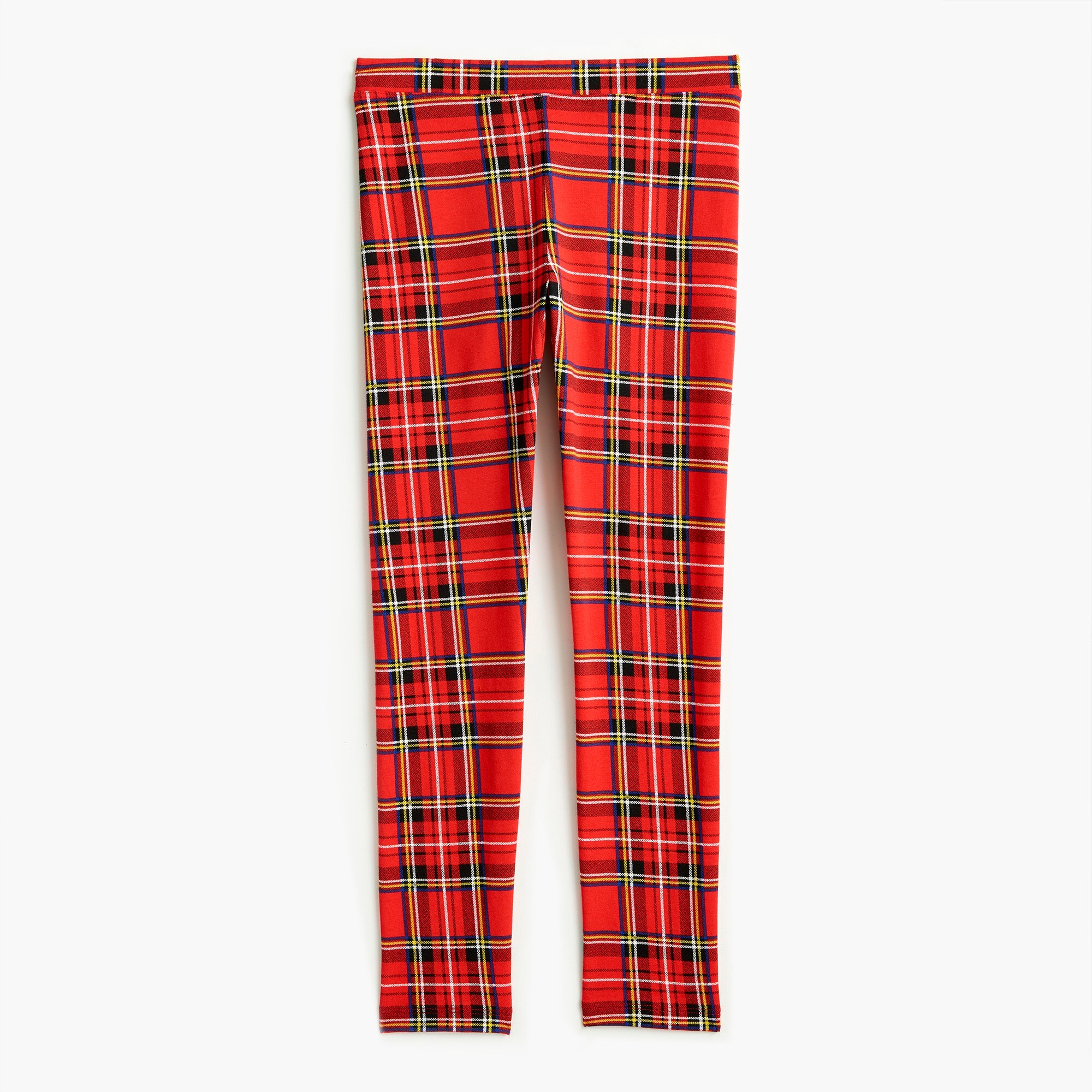 girls Girls' everyday leggings in Brodie red tartan