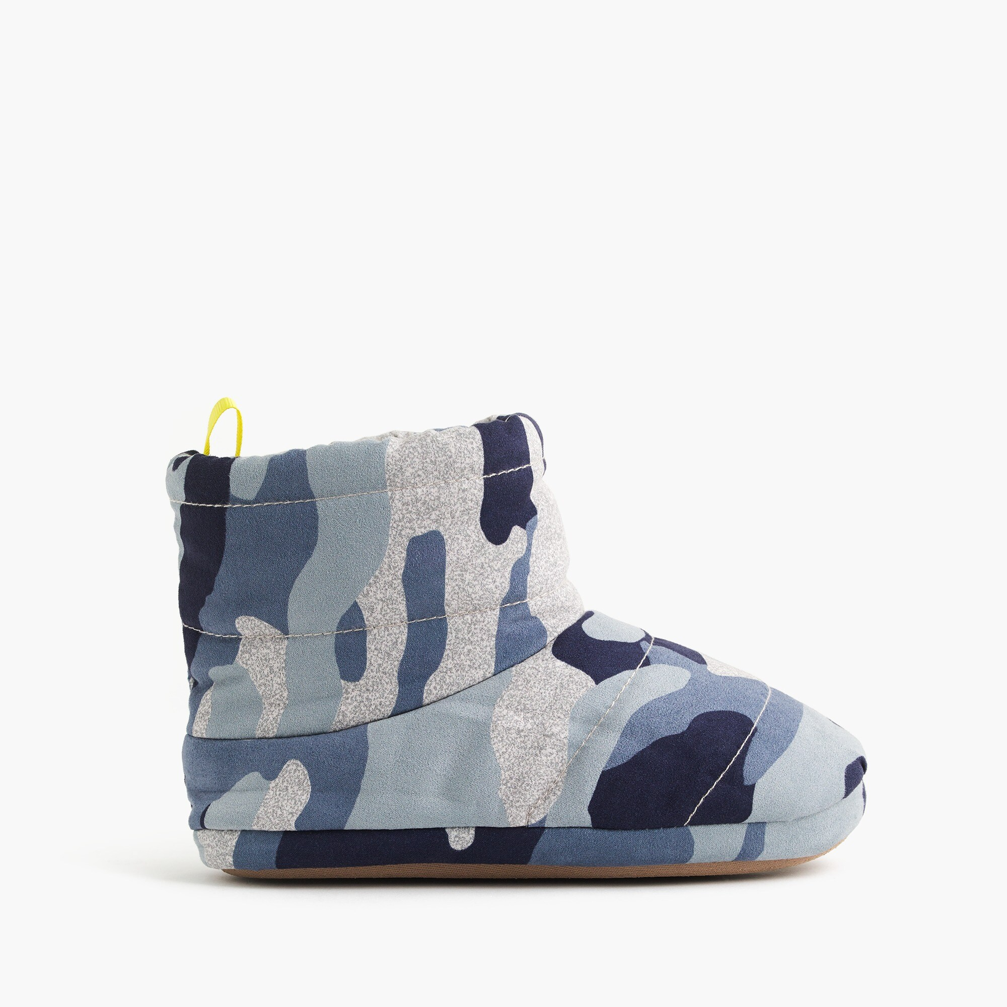 boys Kids' fleece-lined slipper boots in camo