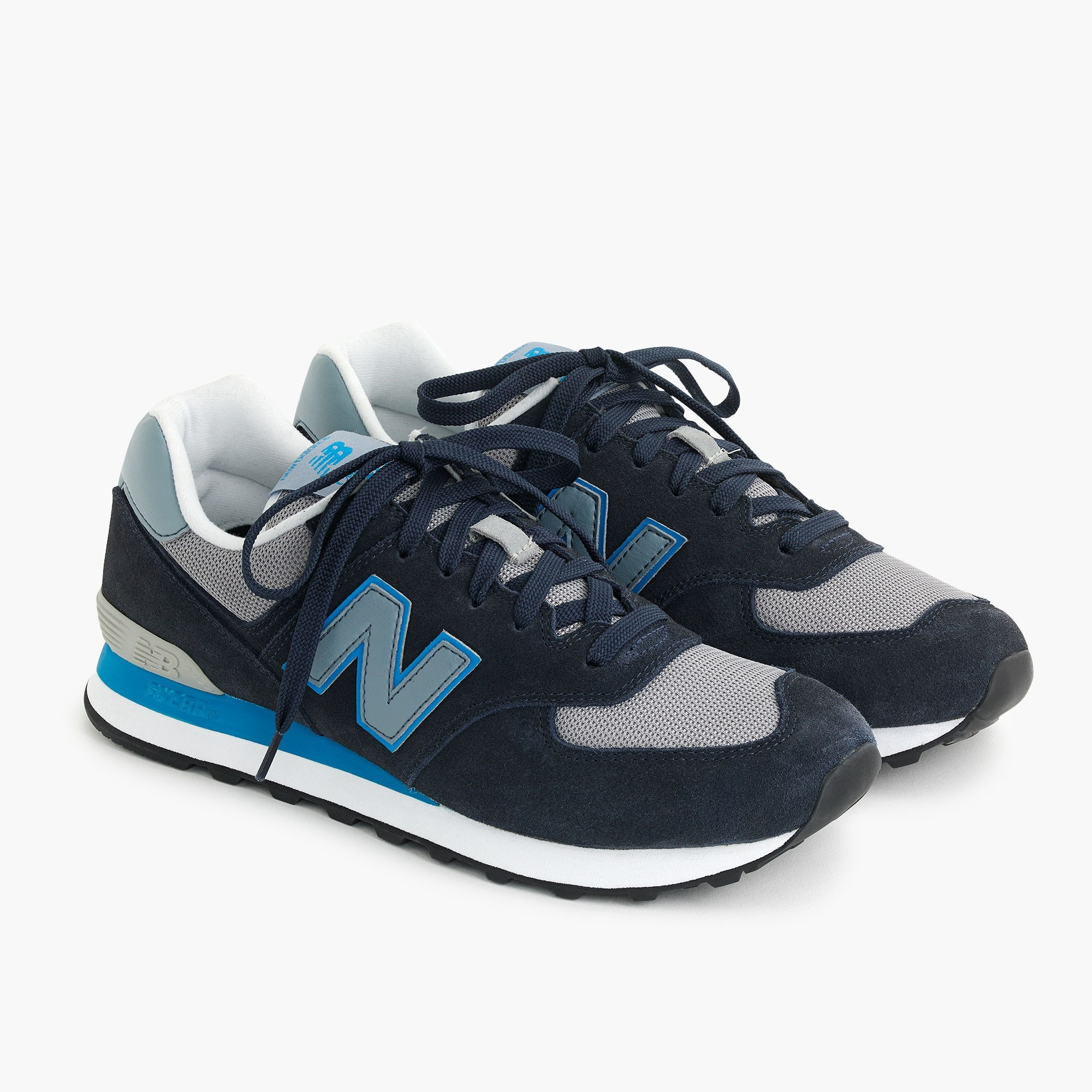 mens New Balance® X J.Crew 574 sneakers in deep blue