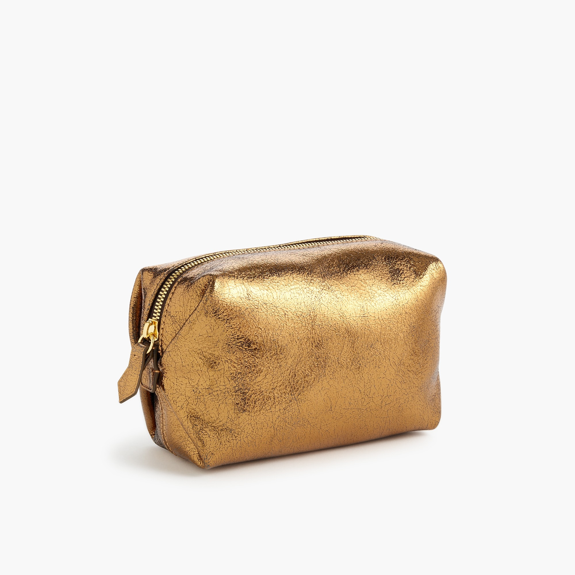 womens Harper mini dopp kit in Italian leather