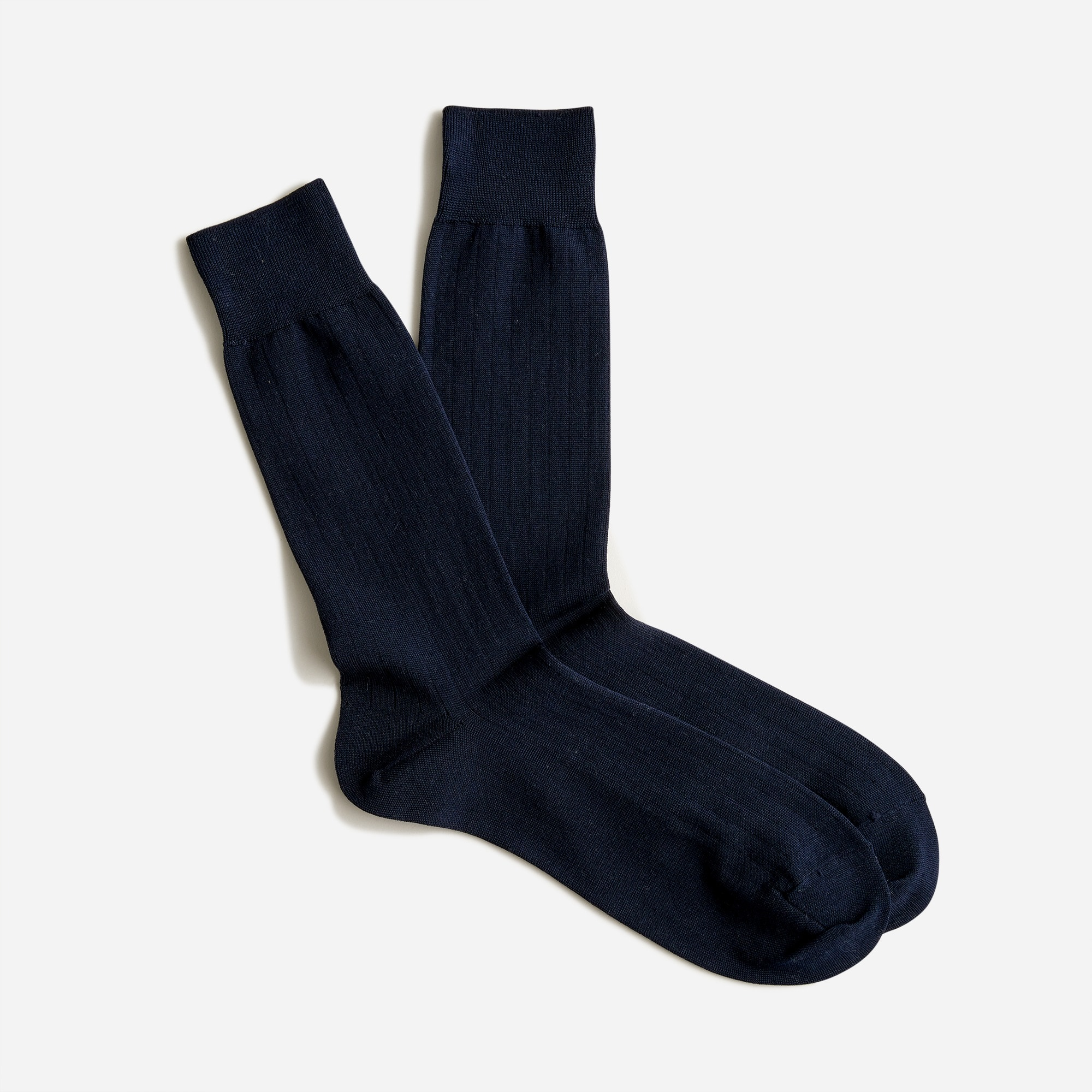 mens Ribbed dress socks