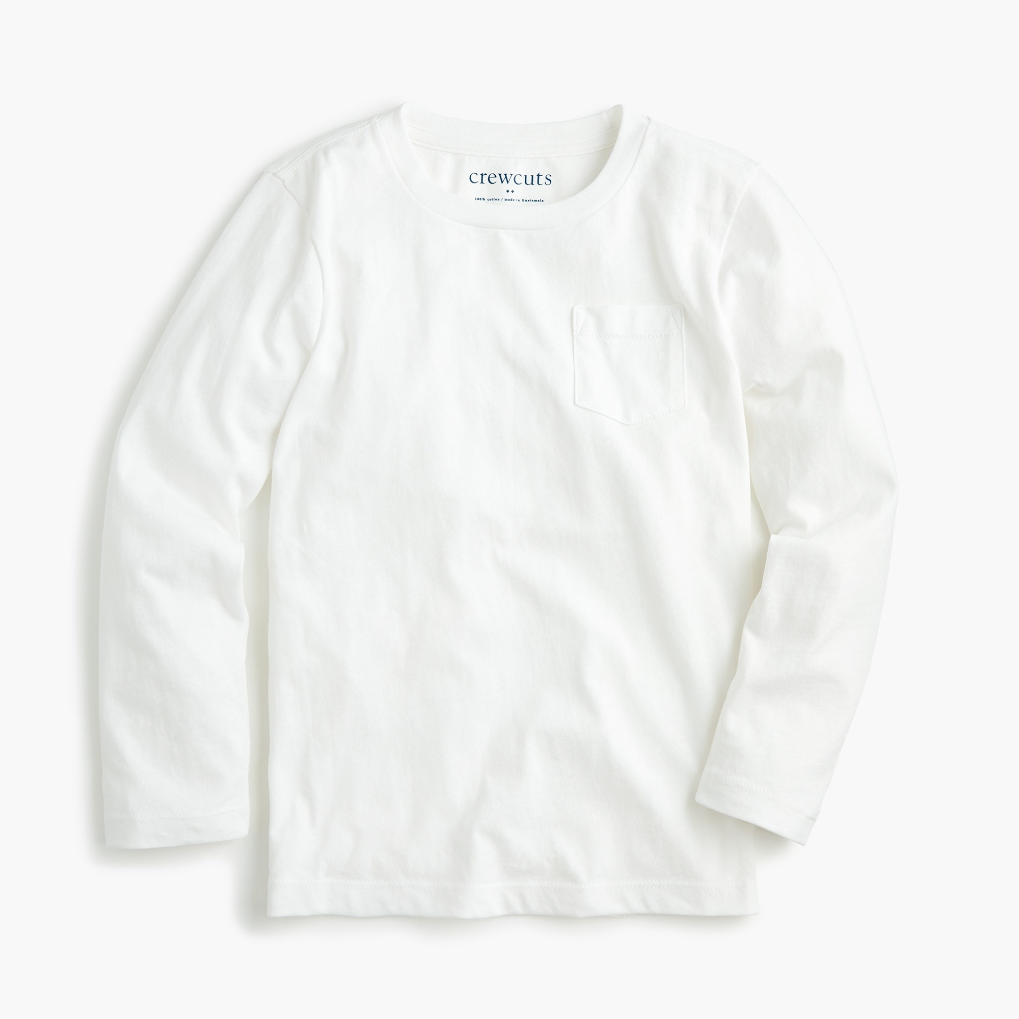 Image 1 for Boys' long-sleeve pocket T-shirt