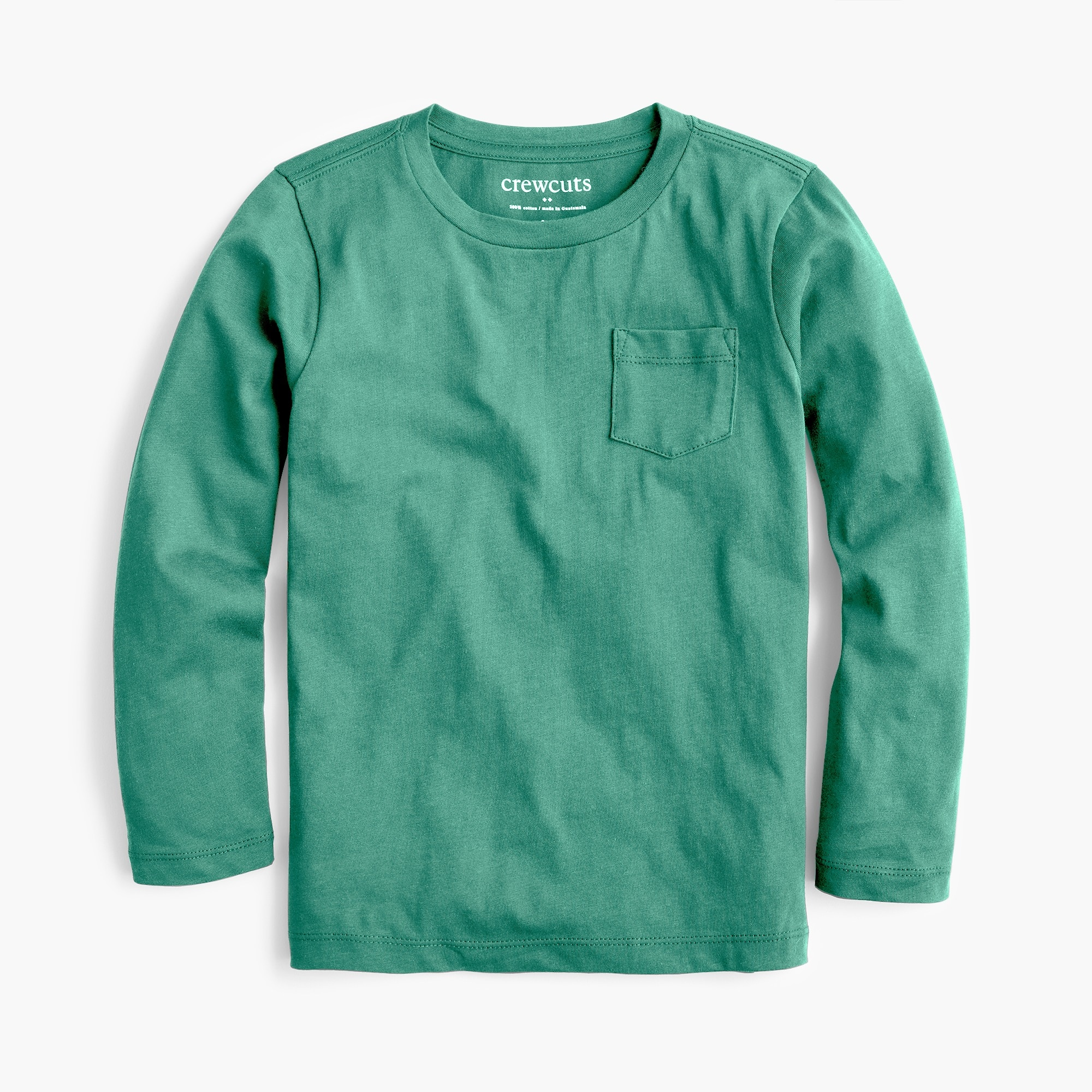 boys' j.crew mercantile long-sleeve pocket t-shirt - boys' tees