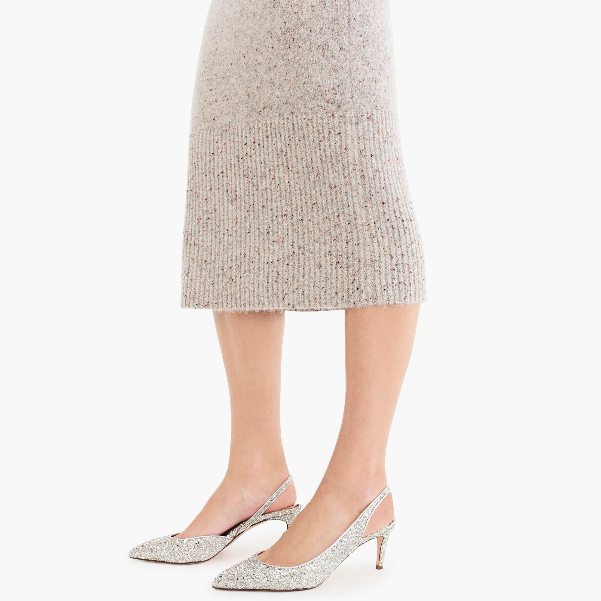 Collection sweater tube skirt
