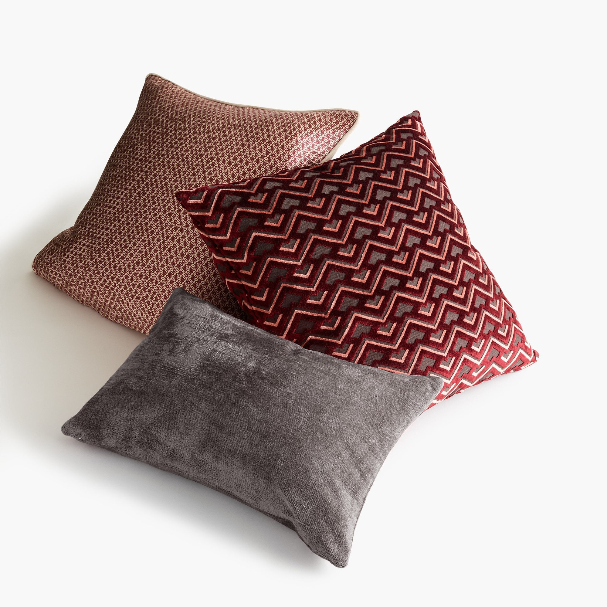 Compono geometric star pillow