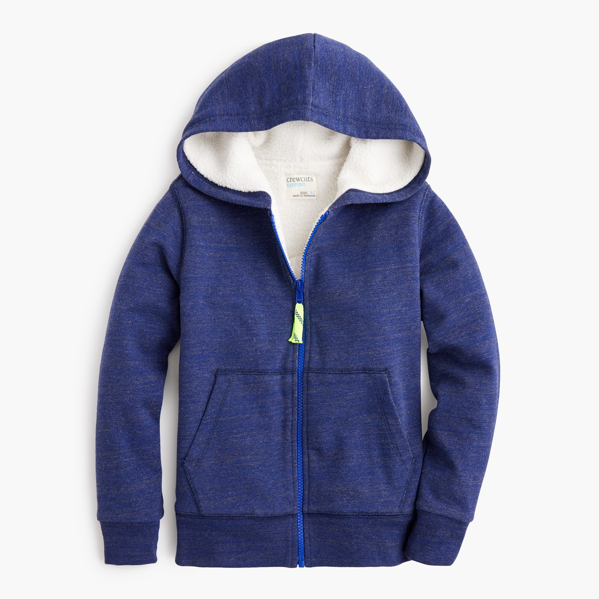 boys Boys' sherpa-lined full-zip hoodie sweatshirt