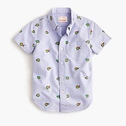 Boys' crewcuts X Nickelodeon™ Teenage Mutant Ninja Turtles critter oxford shirt