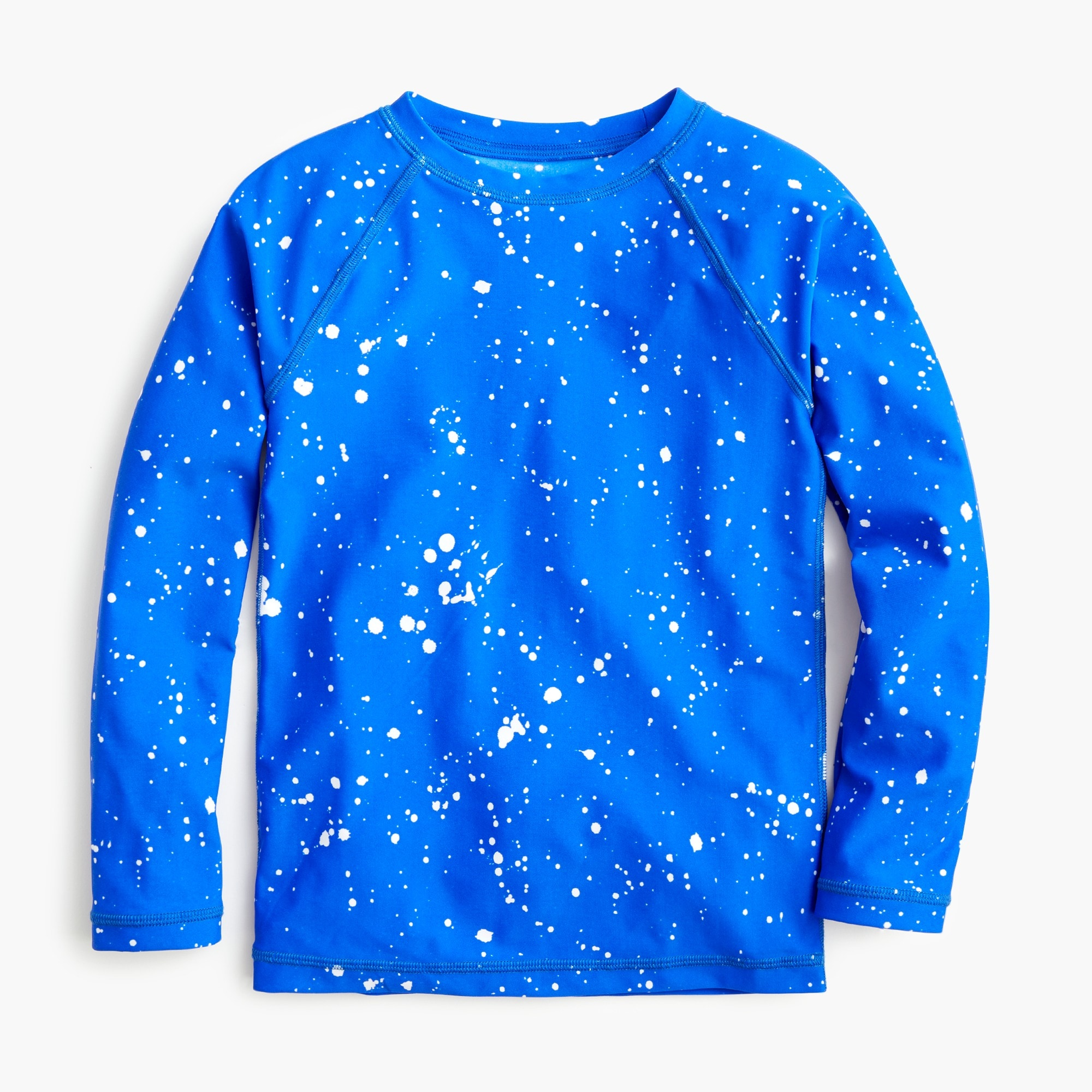 boys Boys' splatter-painted rash guard