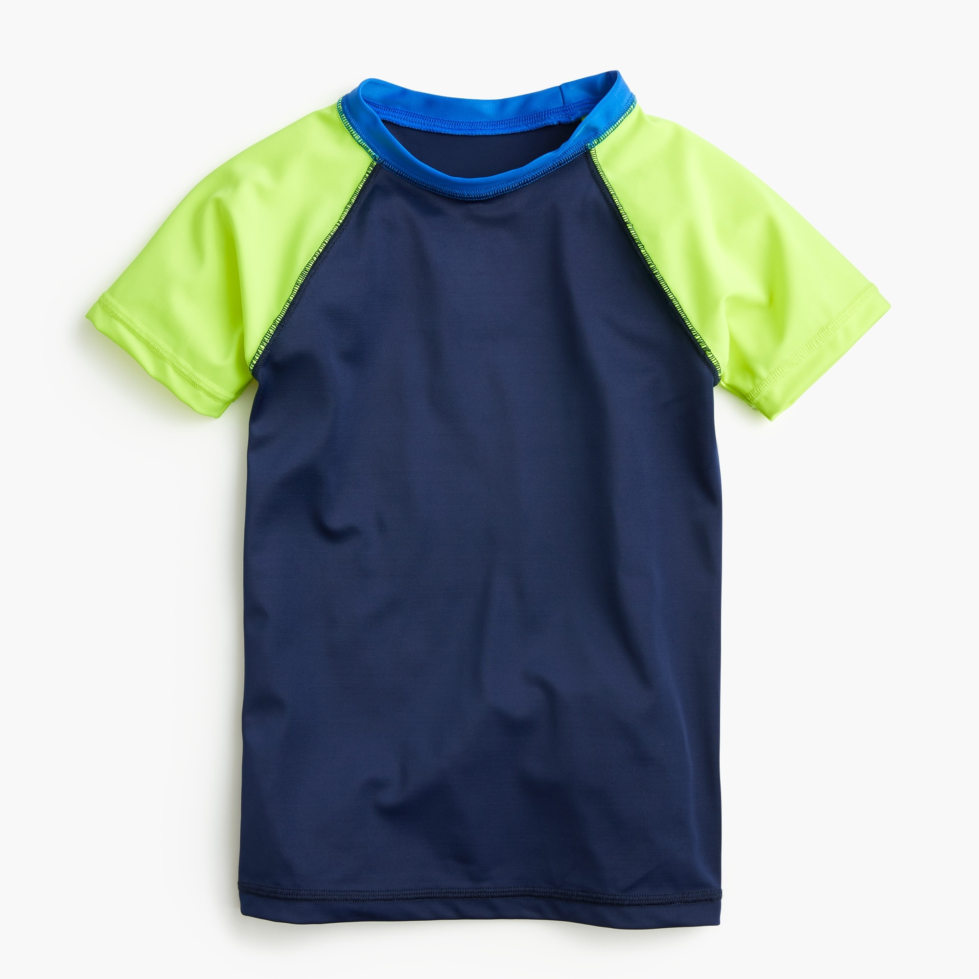 boys Boys' colorblock rash guard