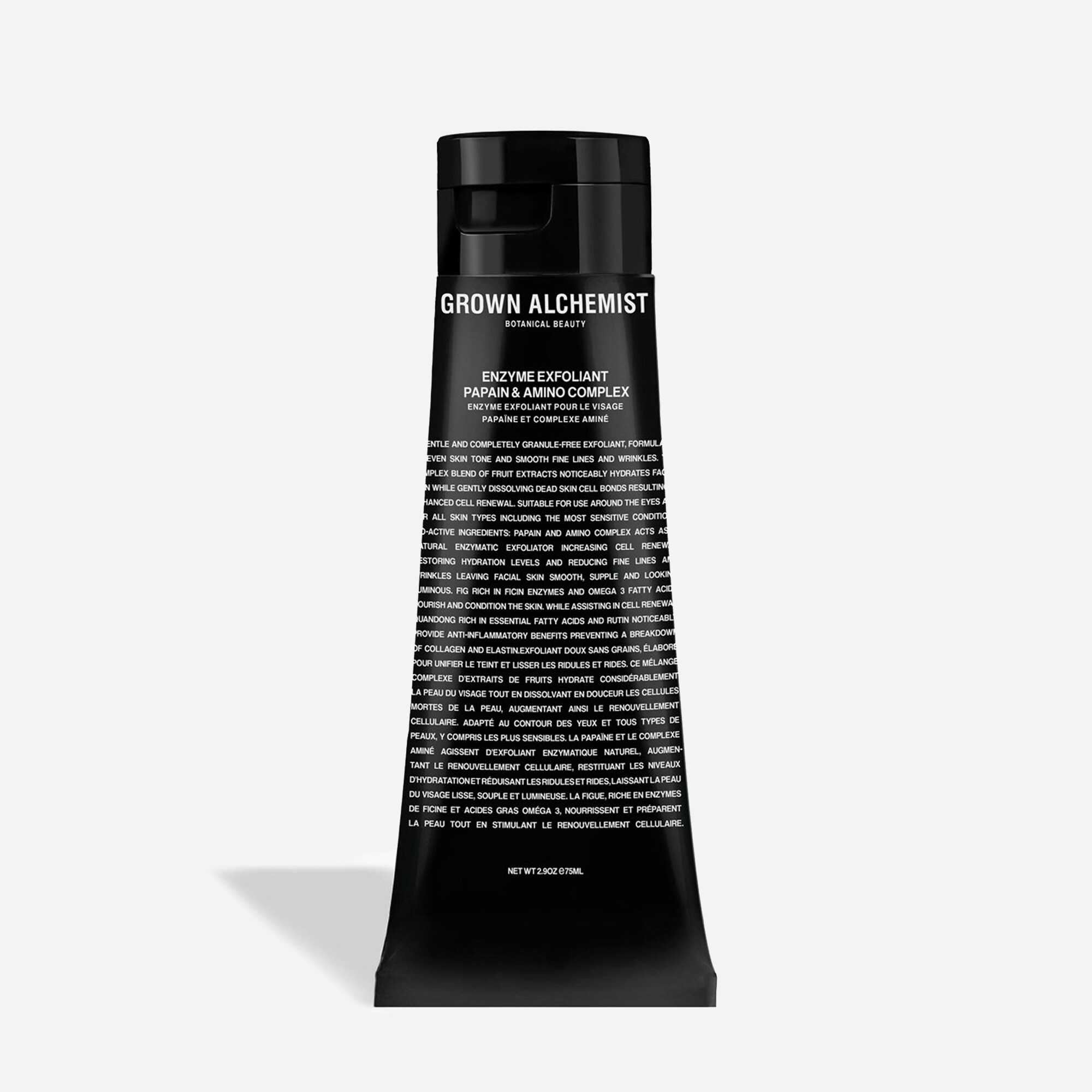 mens GROWN ALCHEMIST® enzyme exfoliant - papain and amino complex 75