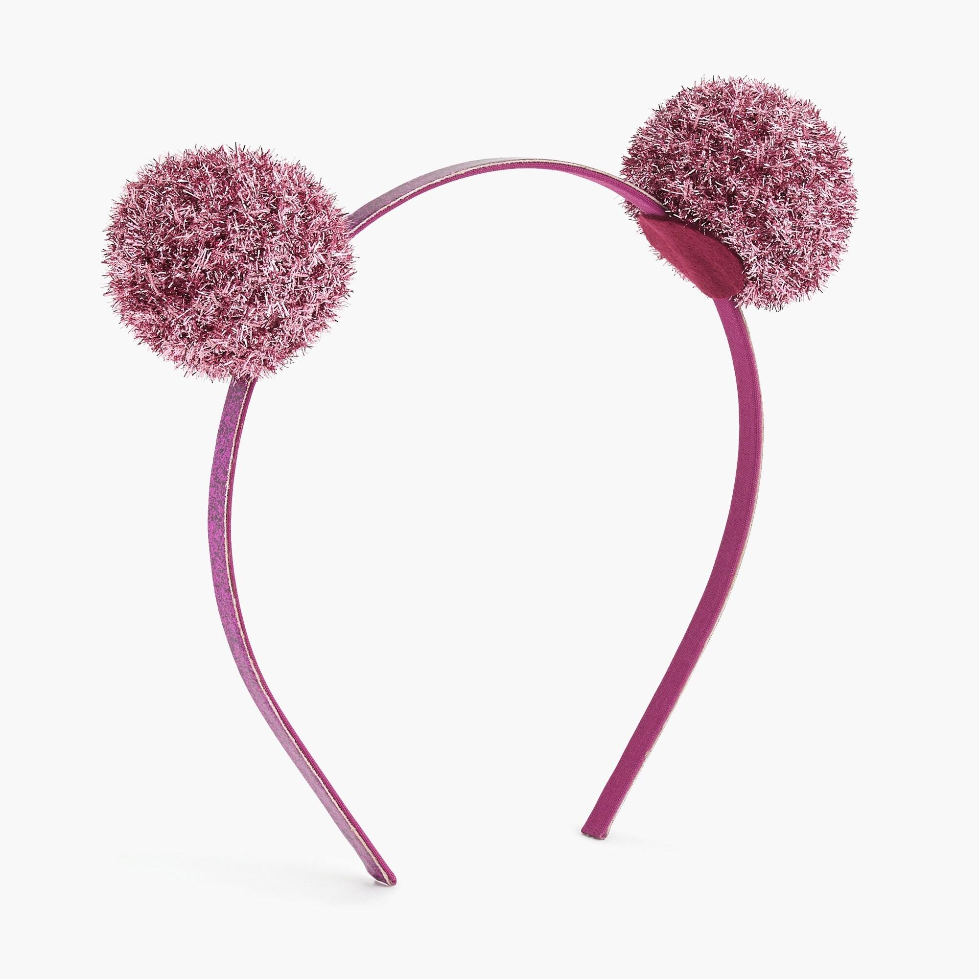 Image 1 for Girls' double-pom headband