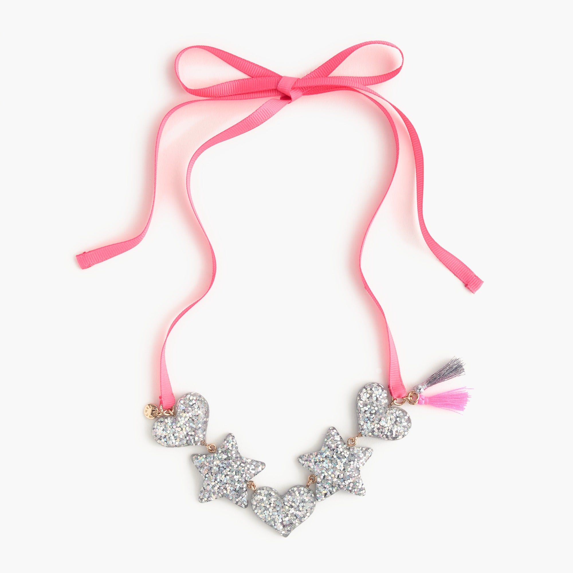 girls Girls' heart and star necklace