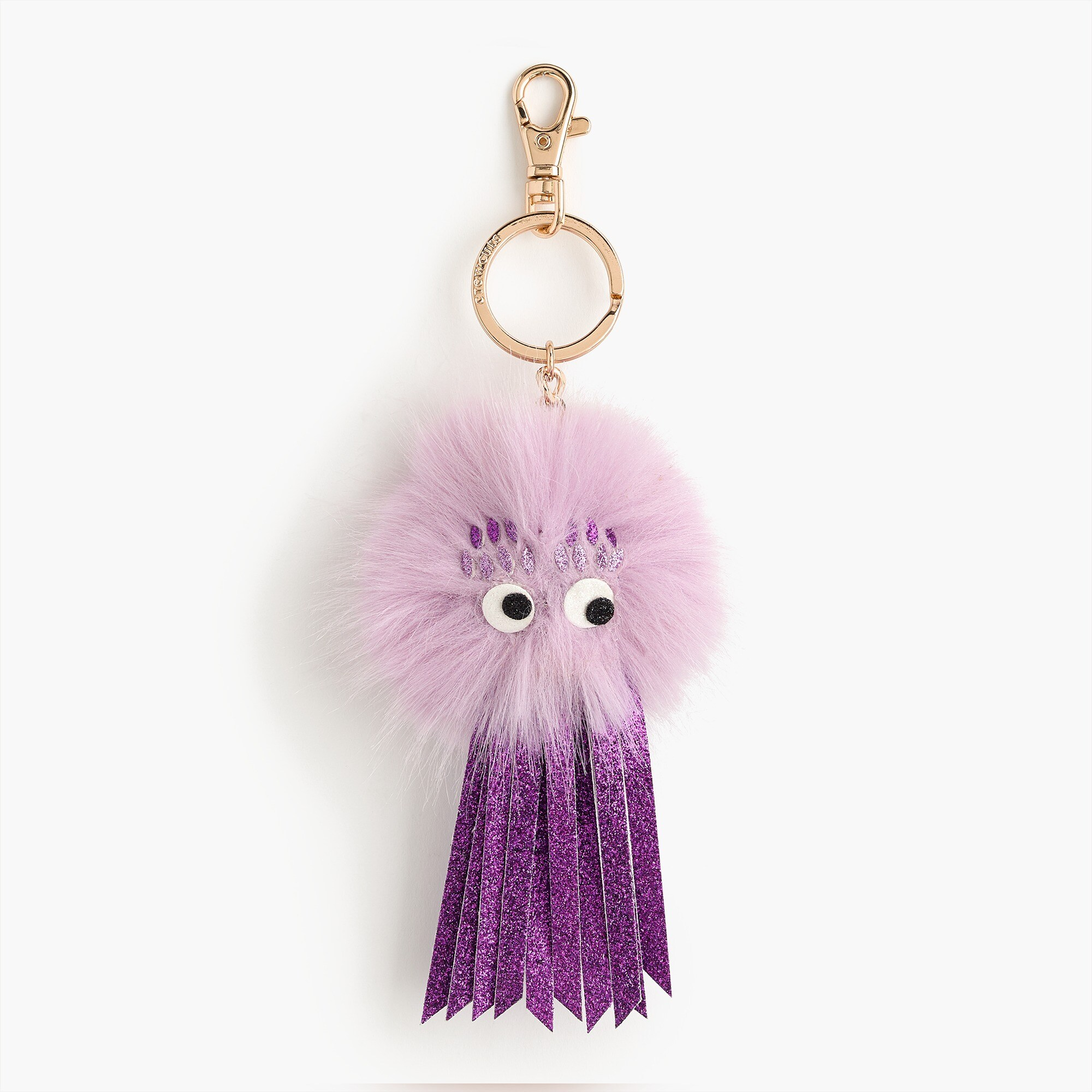 girls Girls' furry monster keychain