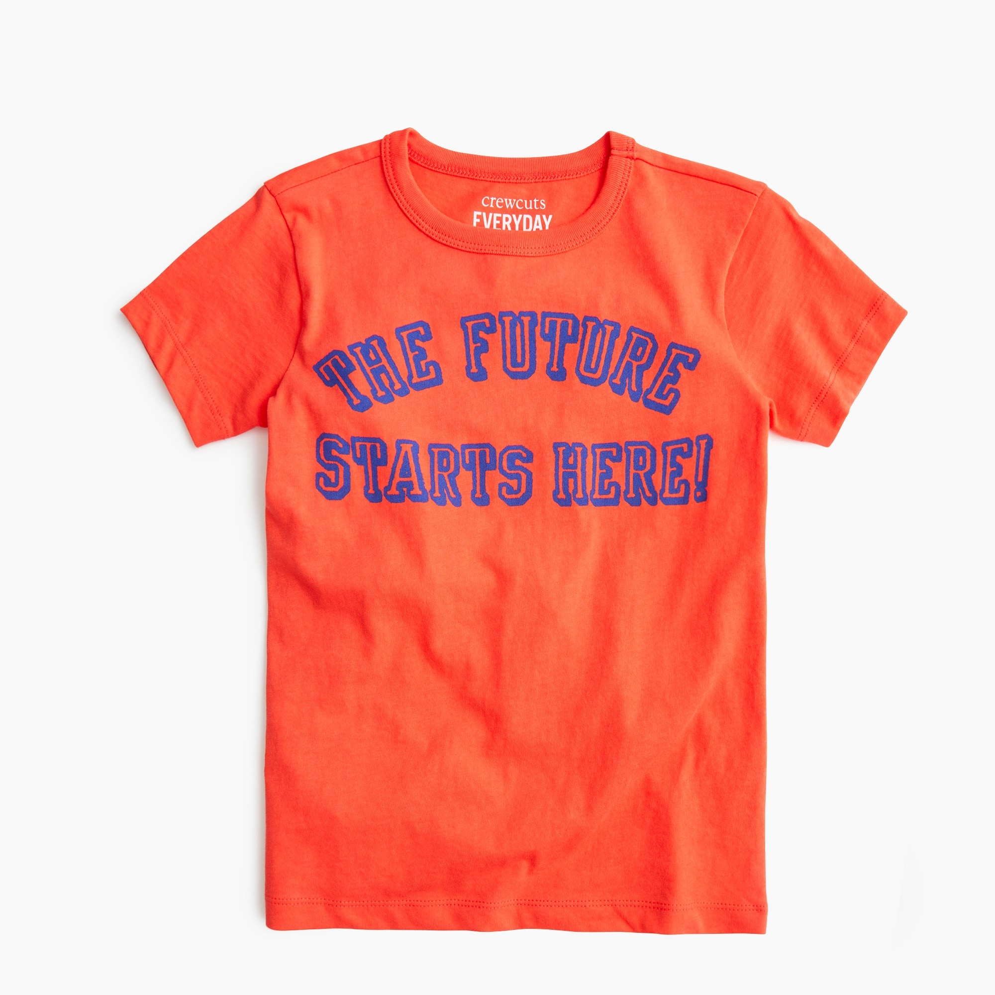 "boys Kids' ""the future starts here"" T-shirt"